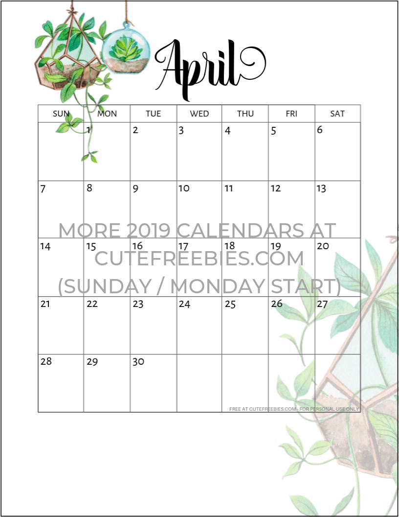 Free Printable Monthly Planner Blank Calendars Tabs Bill