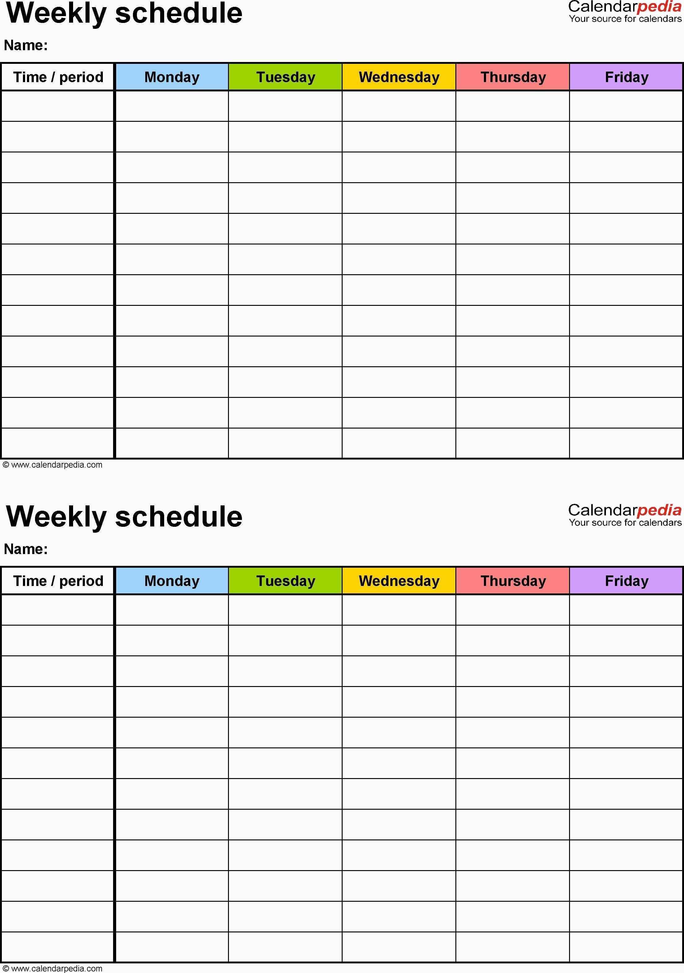 Free Shift Schedule Planner Template Excel Dupont Rotating