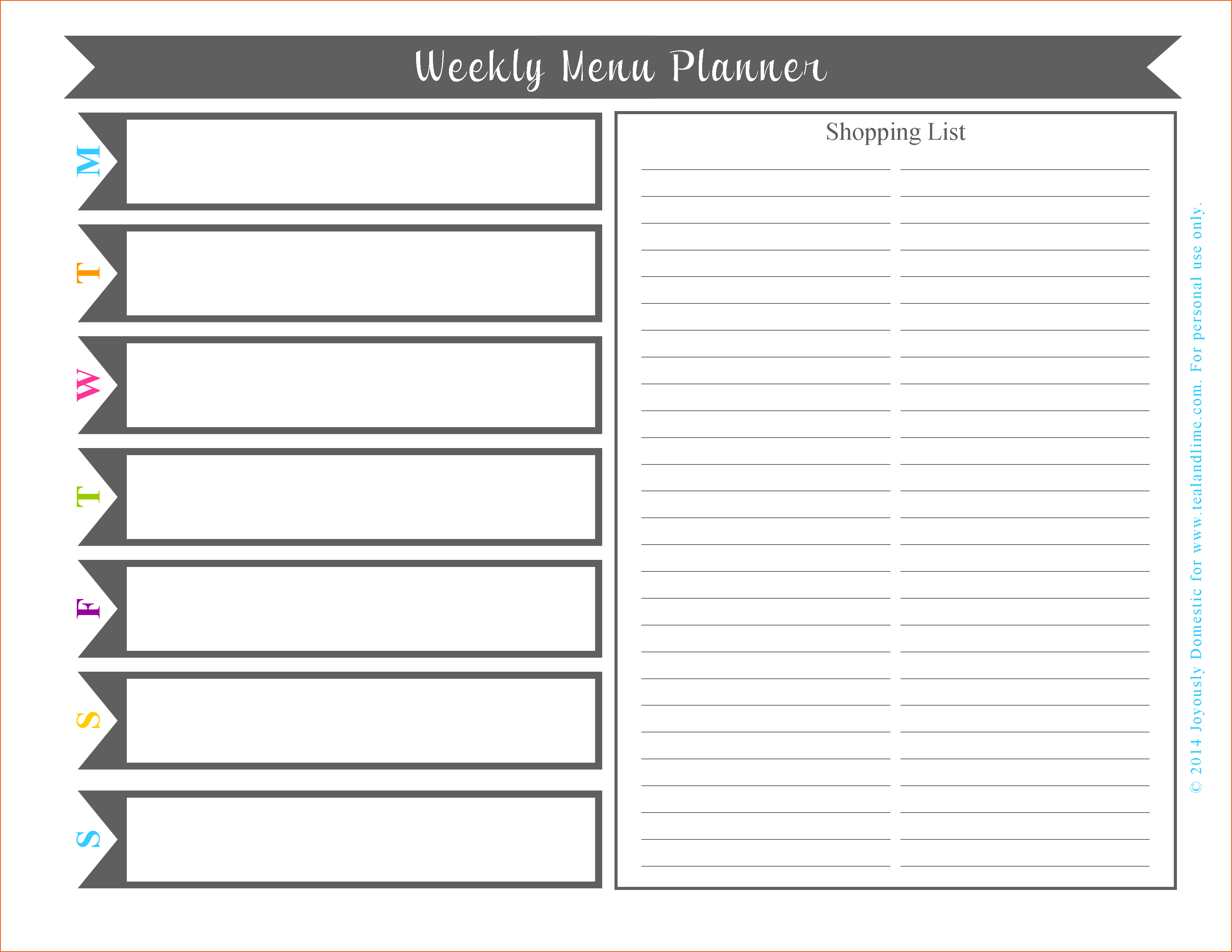 Free Weekly Planner Template Word Schedule Monthly Lesson
