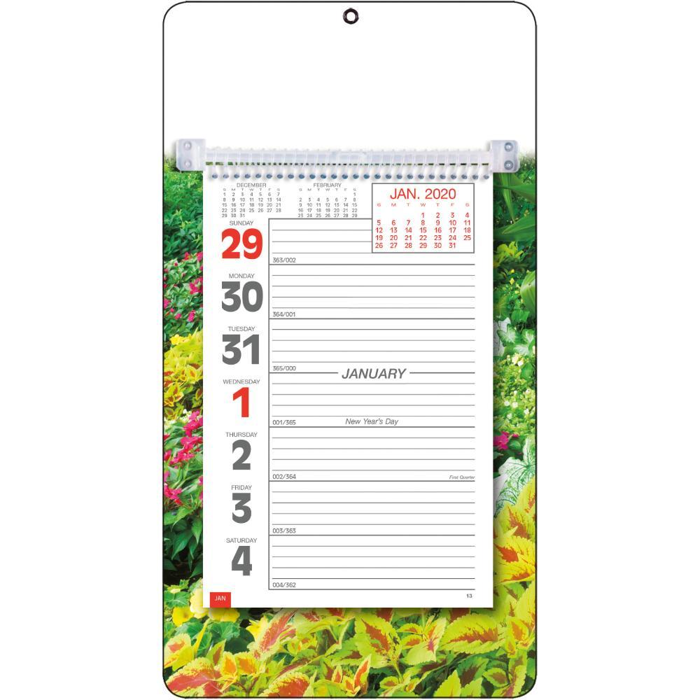 Full-Color Weekly Memo Calendar (2020, Bold Print)