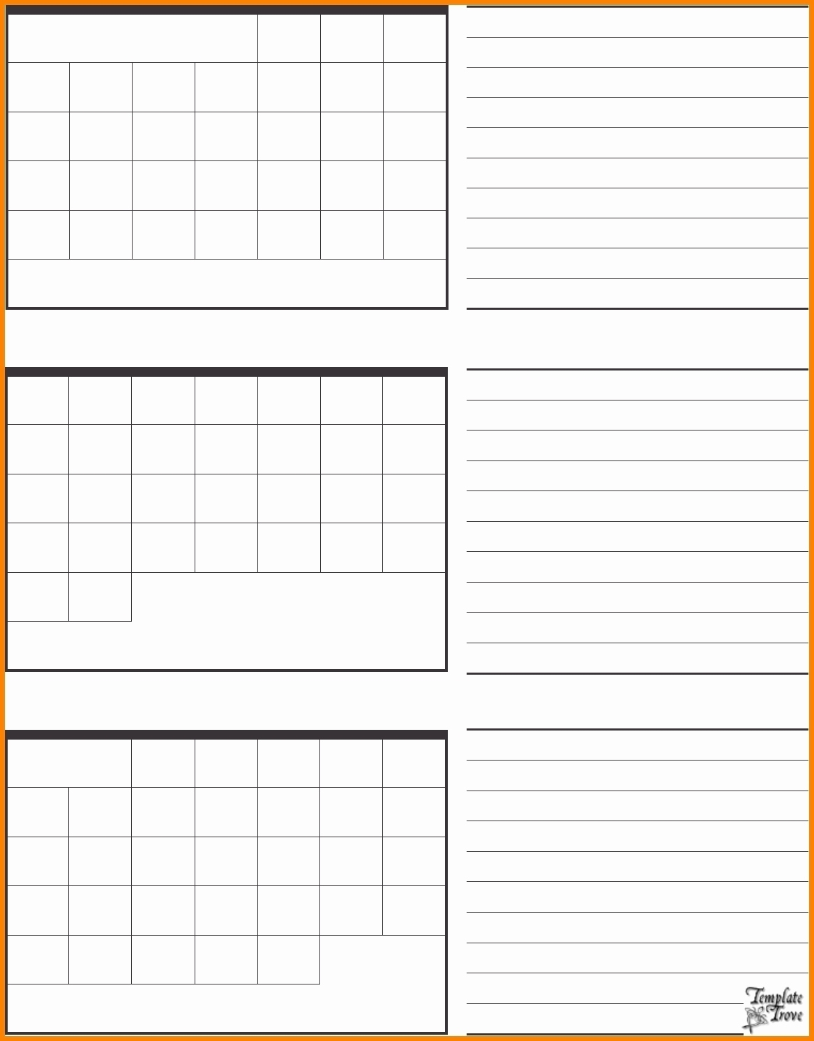 Get Printable Blank 3 Month Calendar ⋆ The Best Printable