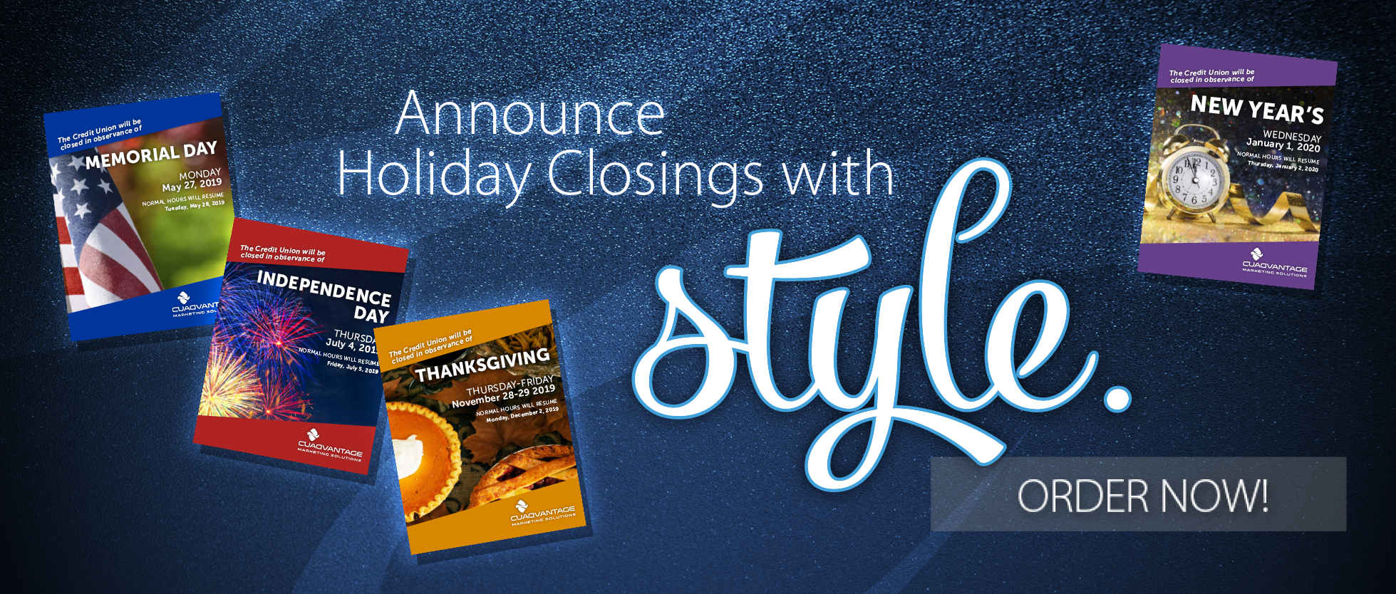 Holiday Closing Posters   Closing Signs   Saginaw, Mi
