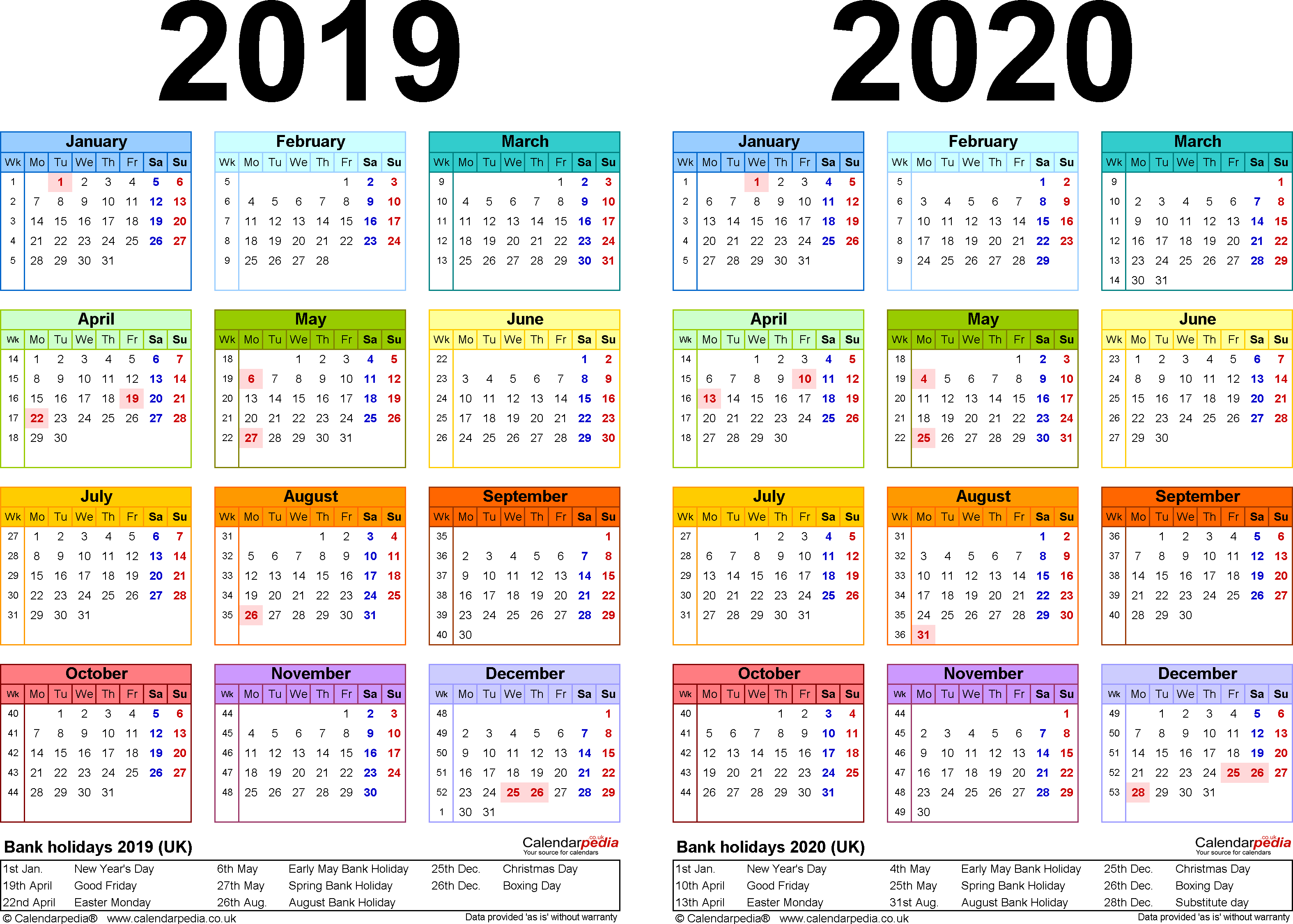 Https://idlewildfurnishing/2019-And-2020-Calendar-In