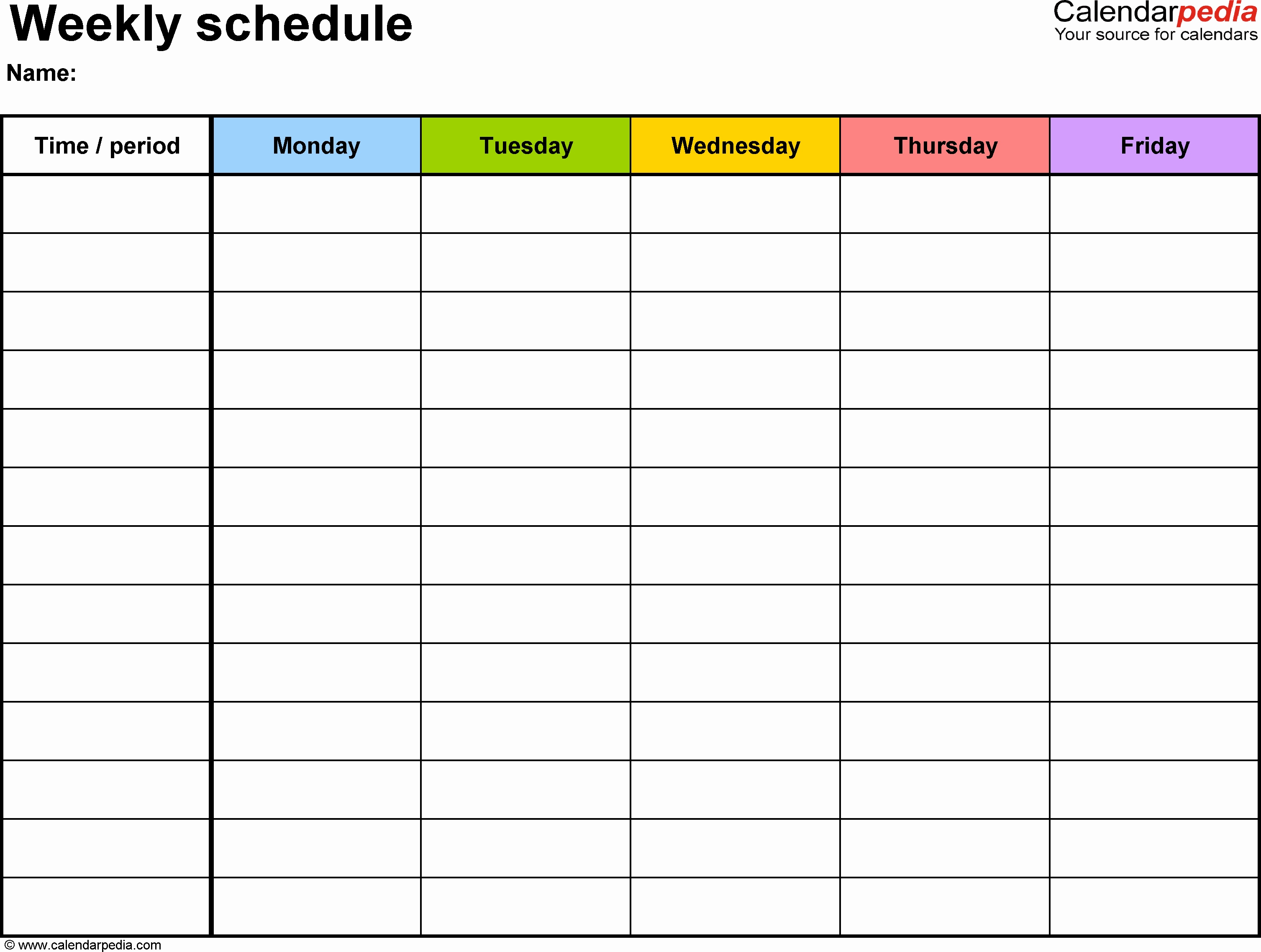 Image Result For Google Docs Employee Schedule Template