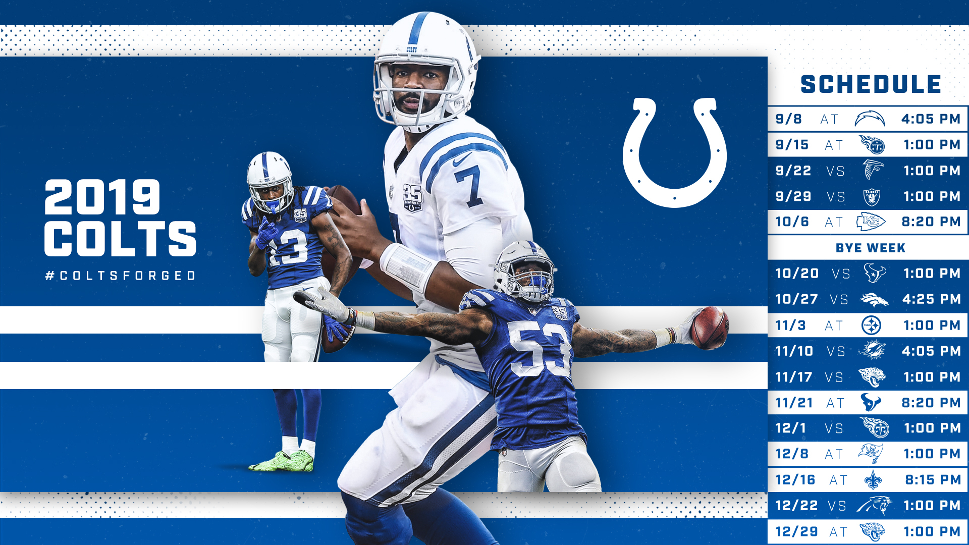 Indianapolis Colts Schedule