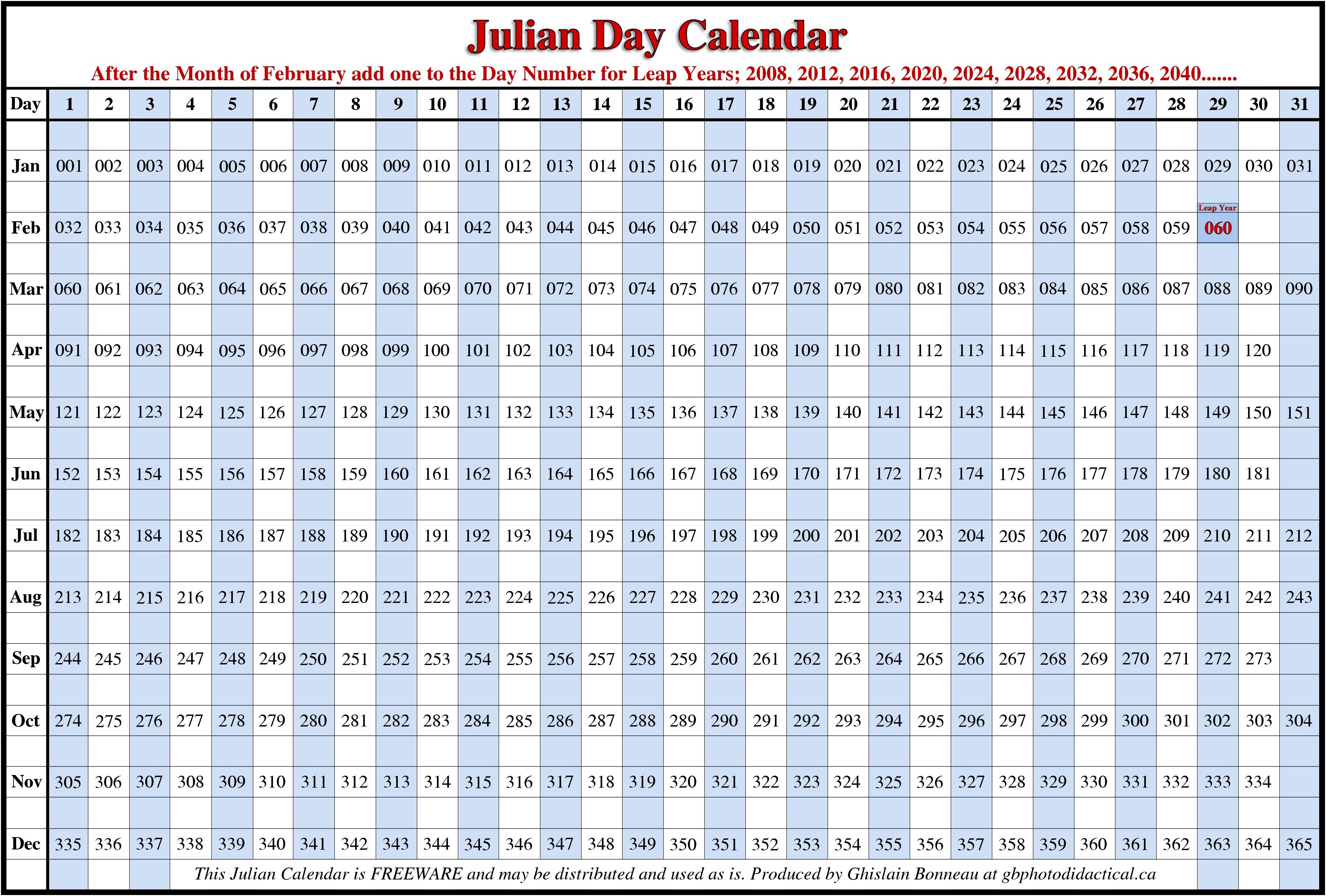 Julian Calendar 2017 To Download Or Print | Americanwomanmag