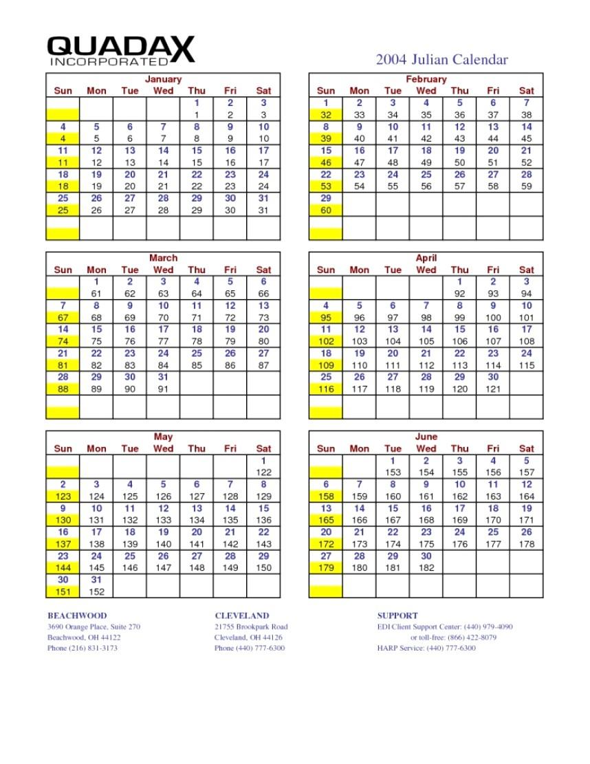 Julian Date Calender May 2019   Calendar Template Printable
