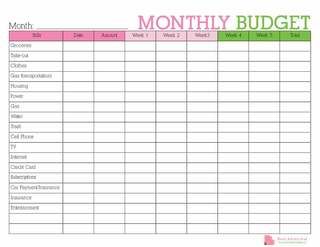 Keep Track Of Your Monthly Expenditures With This Free