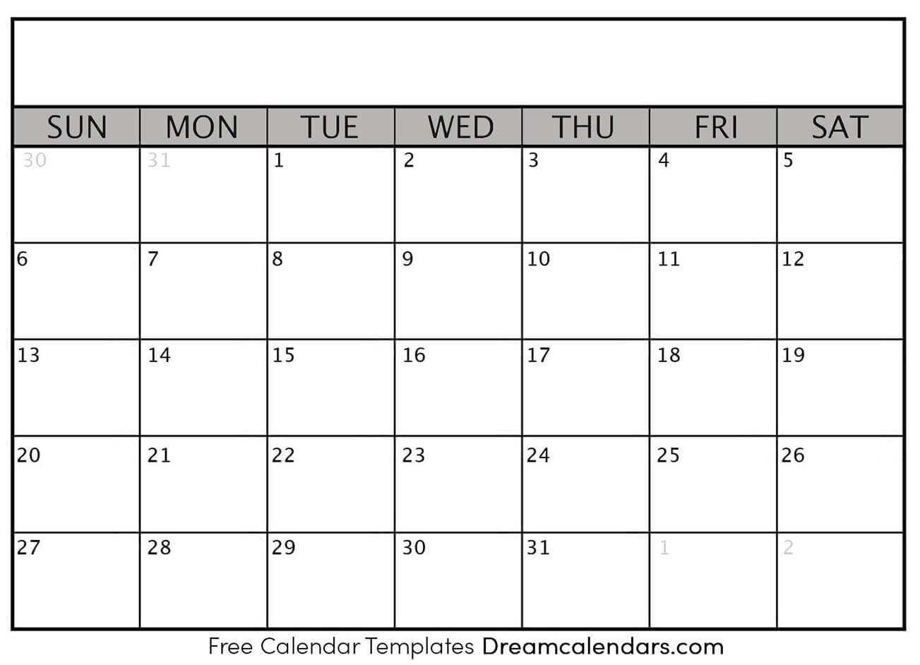 Ko-Fi - Blank Printable Calendar Templates - Ko-Fi
