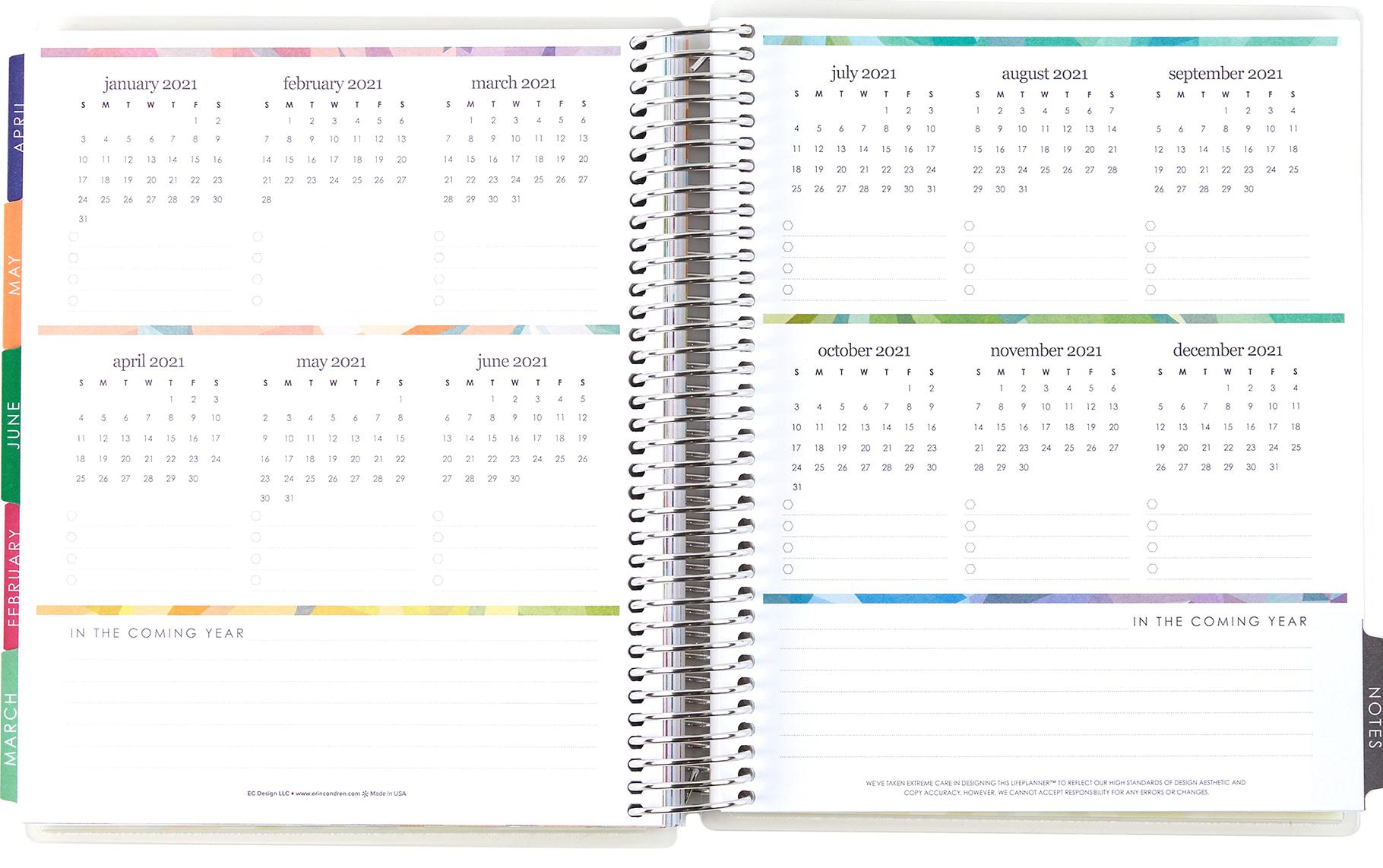 Large Monthly Planner | Deluxe Monthly Planners | Erin Condren