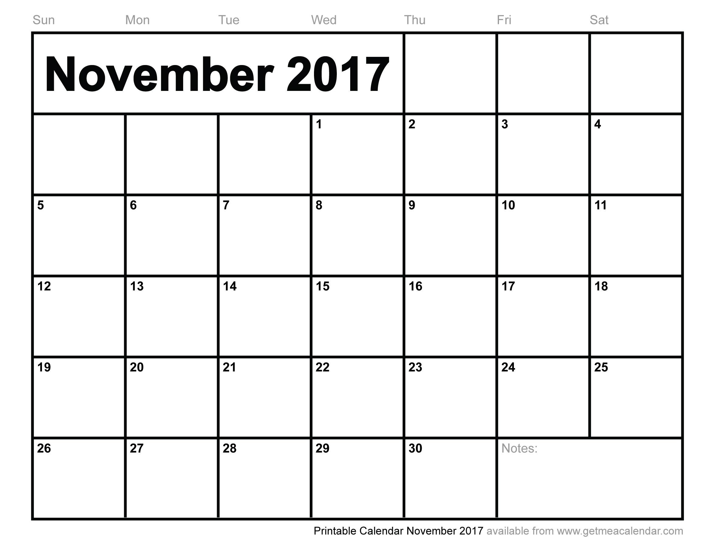 Month Calendar November 2013 | Academic Calendar Rug