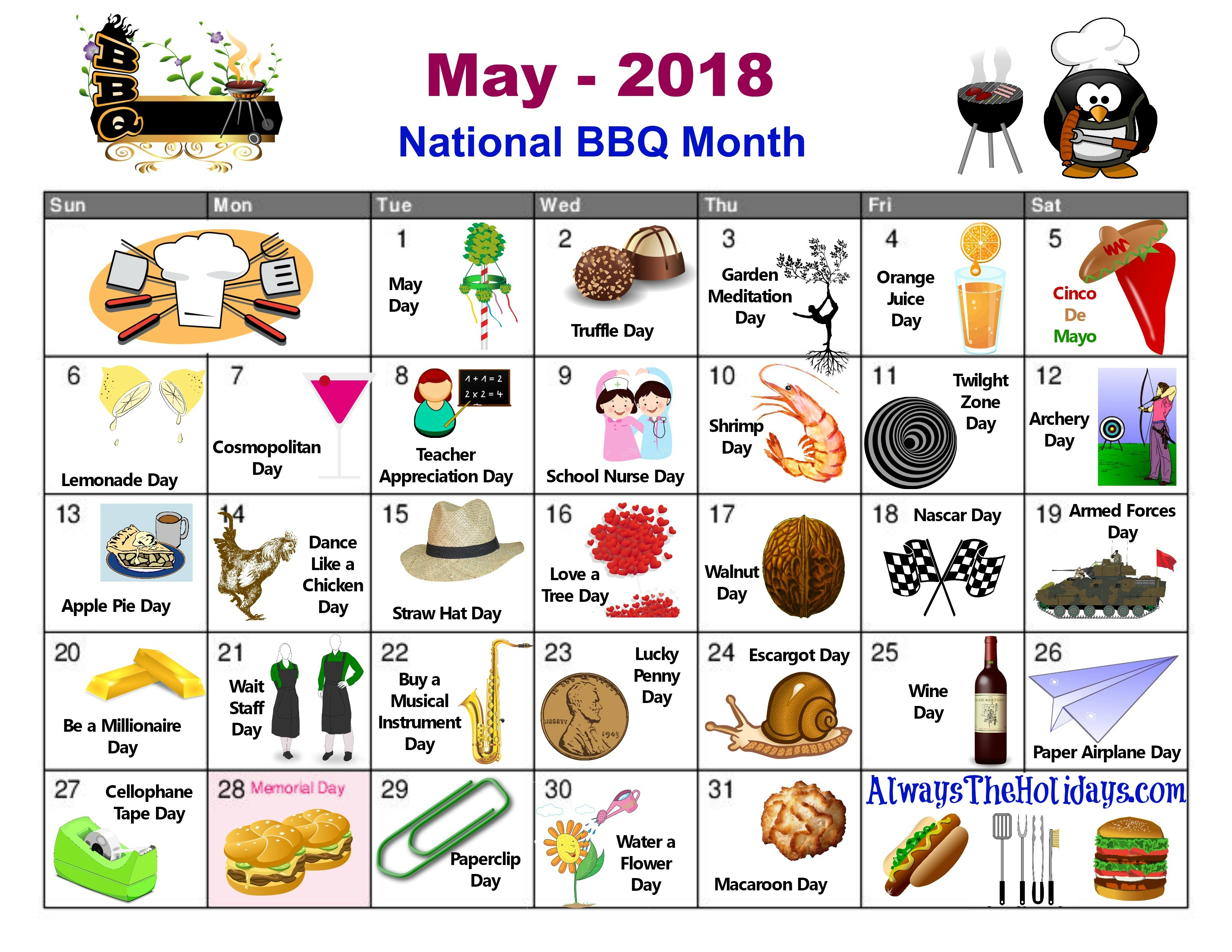 National Days Calendar   2020 Calendar