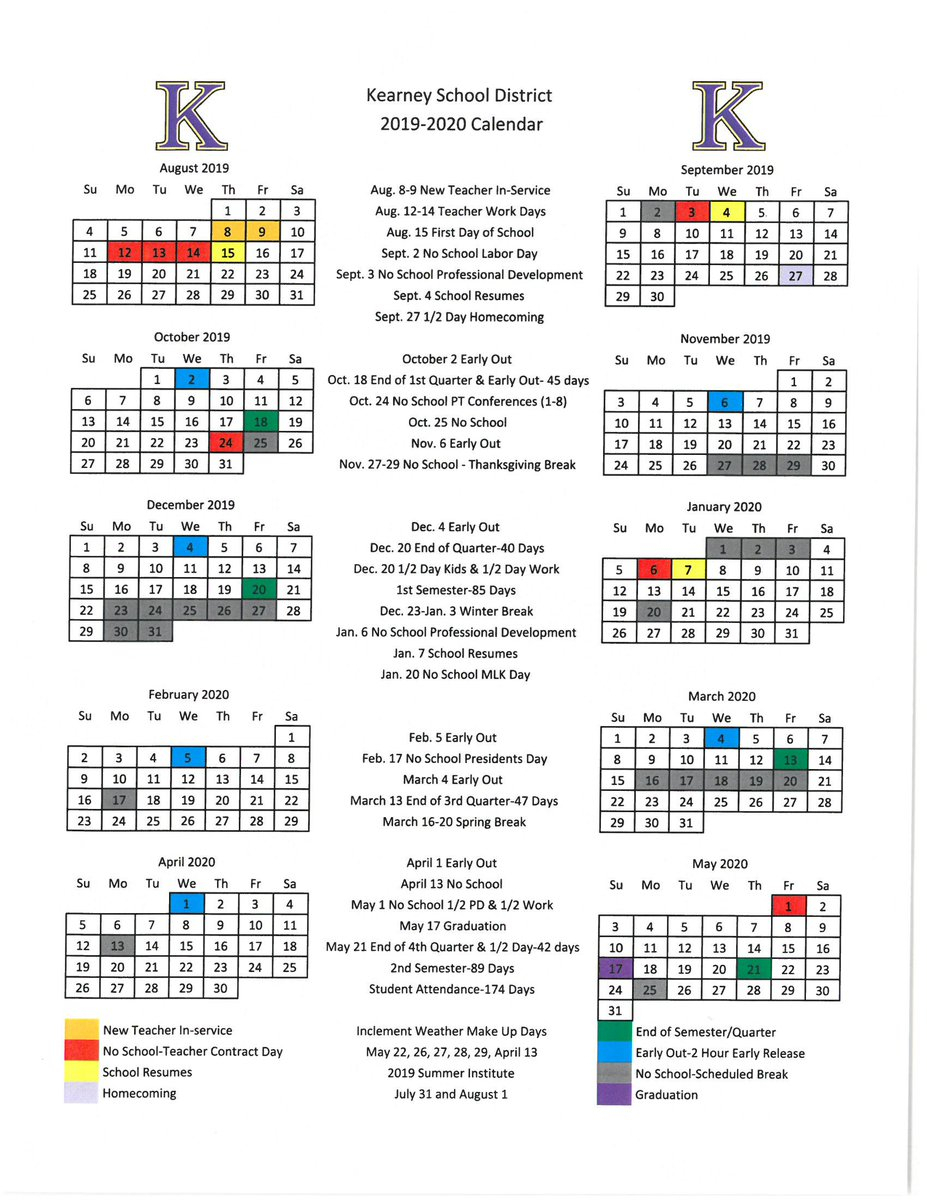 New School Academic Calendar