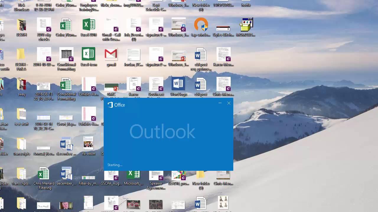 Outlook - Calendar Printing Assistant Not Working In Outlook 2016Chris  Menard
