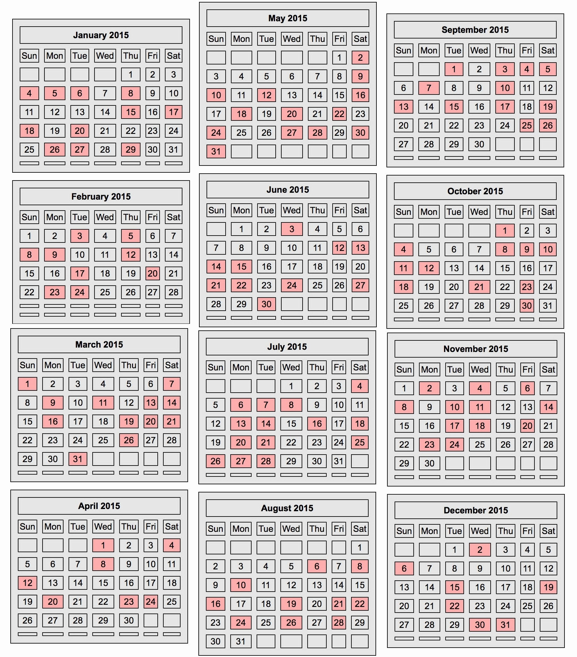 Perky 2020 Chinese Lunar Calendar • Printable Blank Calendar