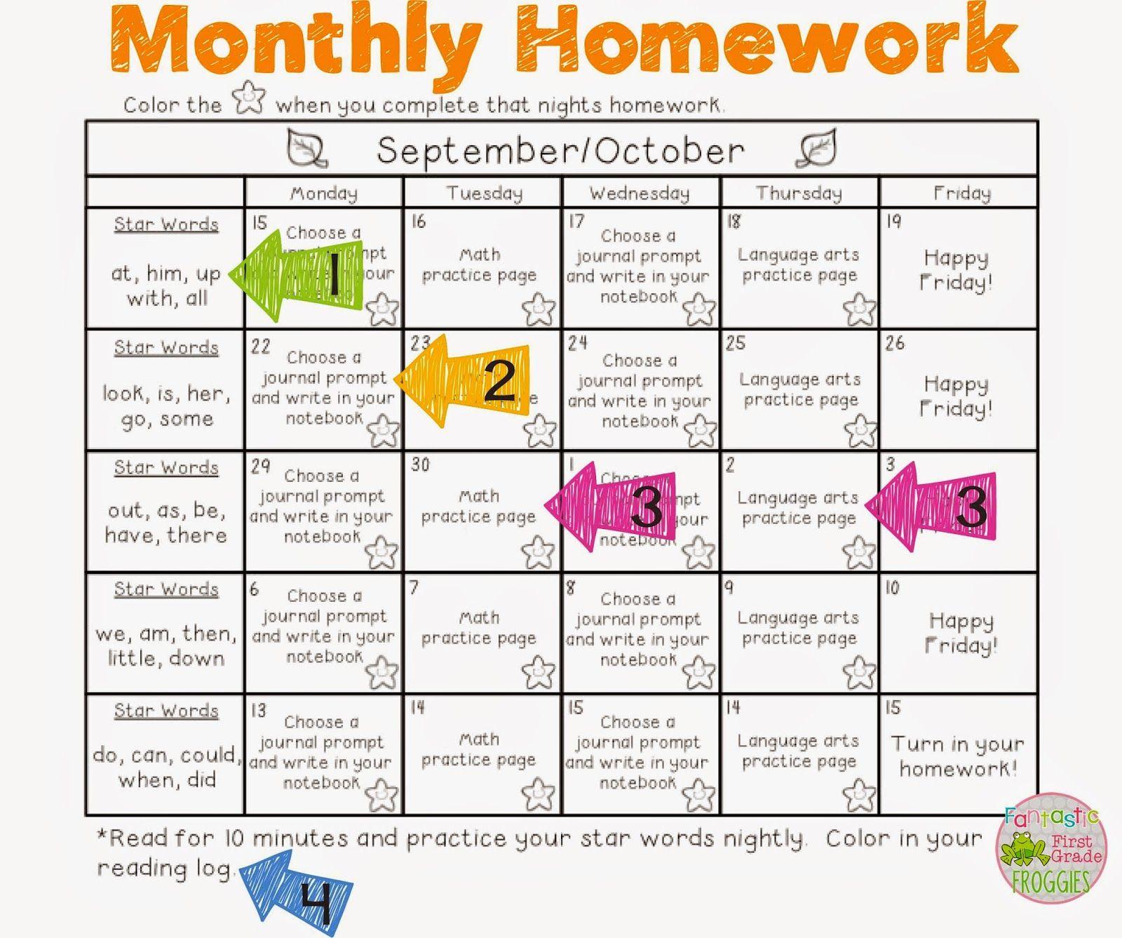 Pinmichelle Reese On First Grade | First Grade Homework