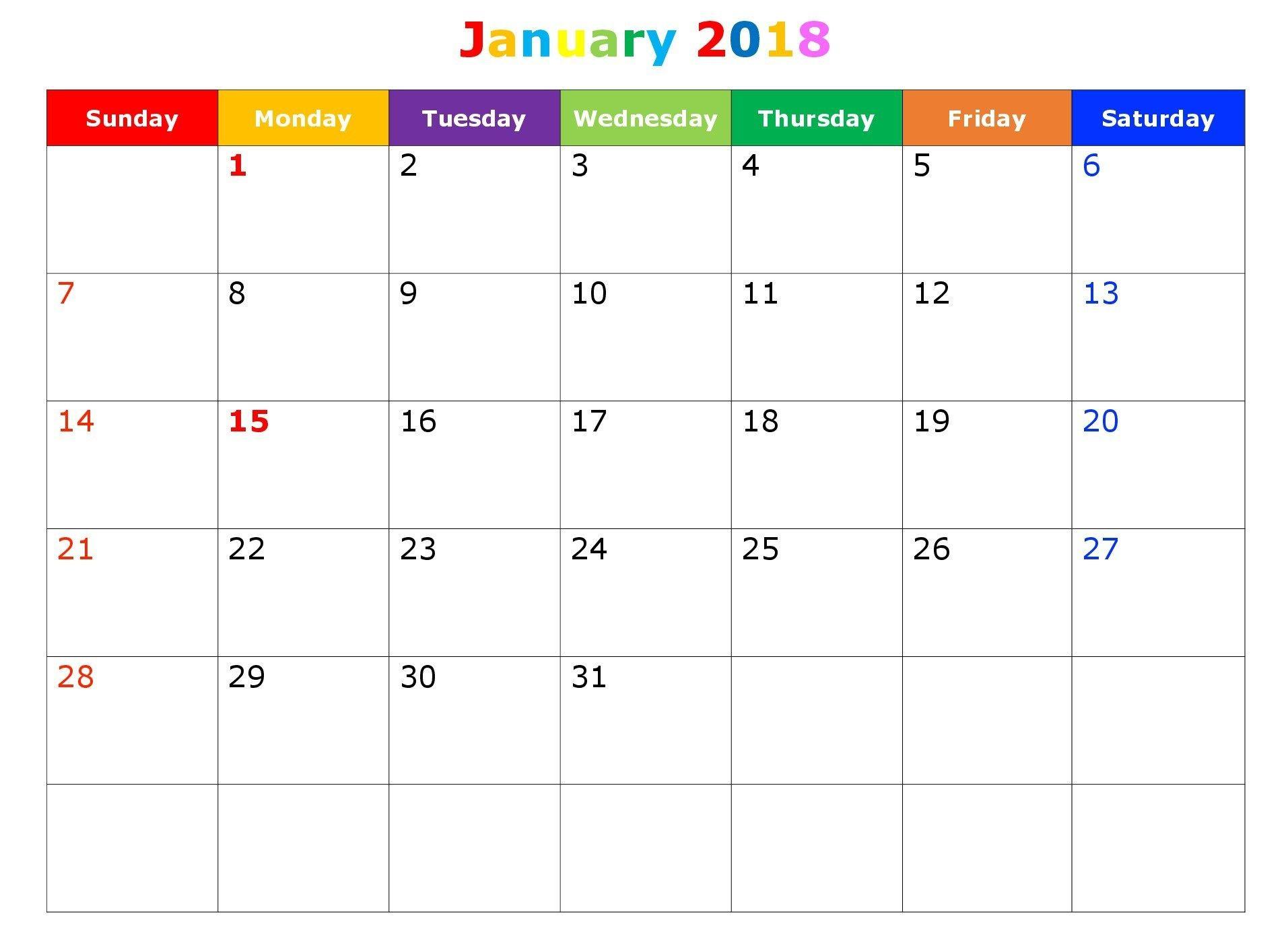 Planner August 2018 To December 2018 | Calendar Template