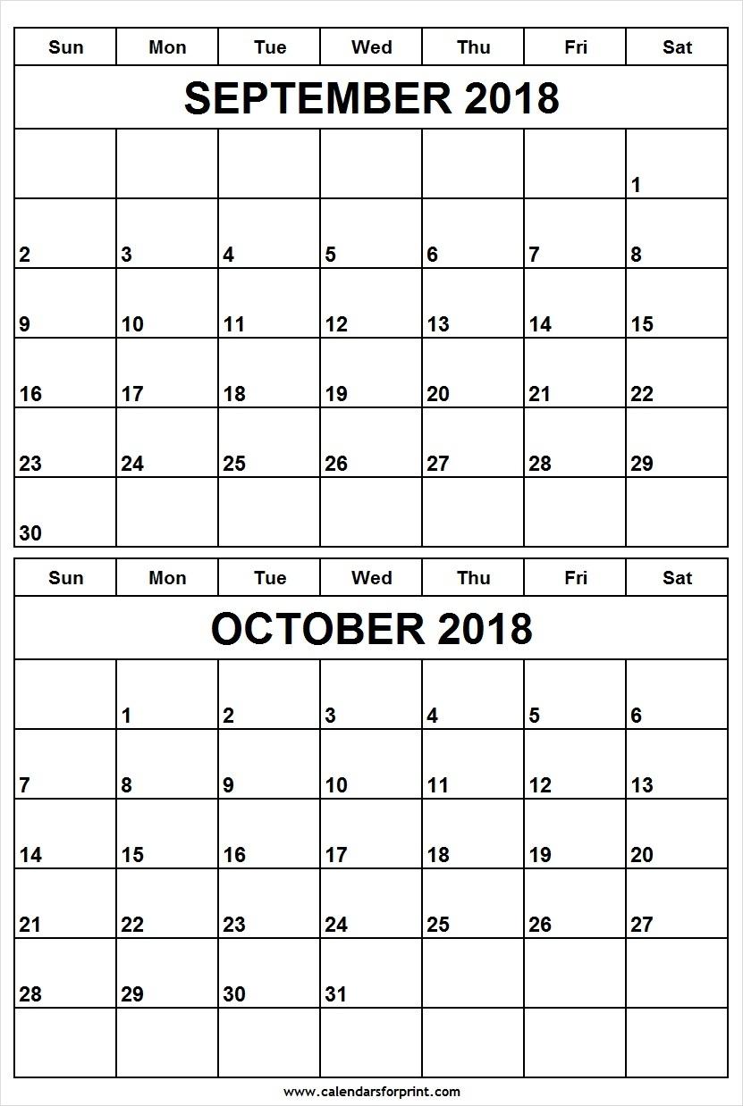 Print 2 Month Calendar Free • Printable Blank Calendar Template