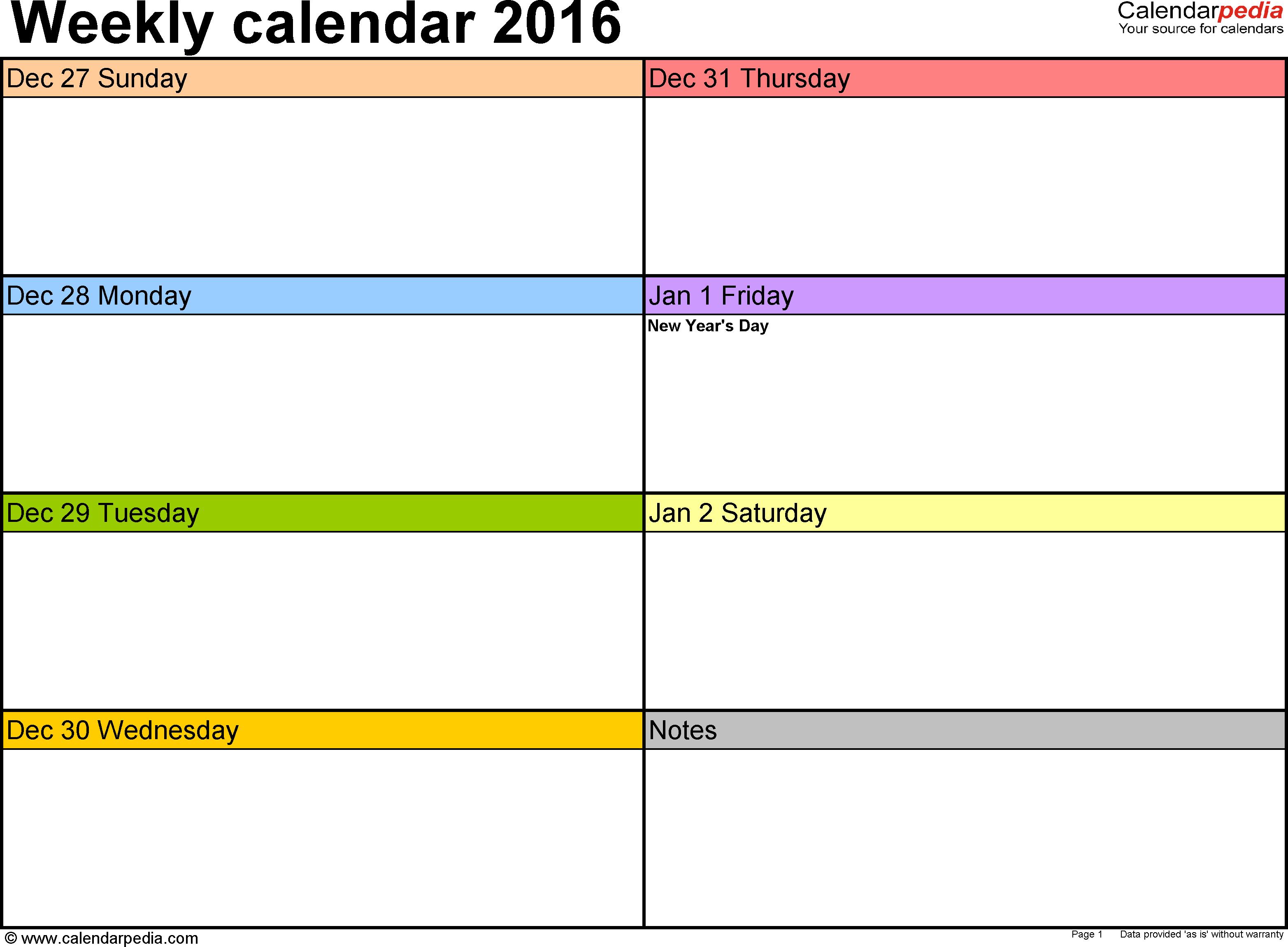 Print Blank Calendar Week June Outlook Free Printable Weekly