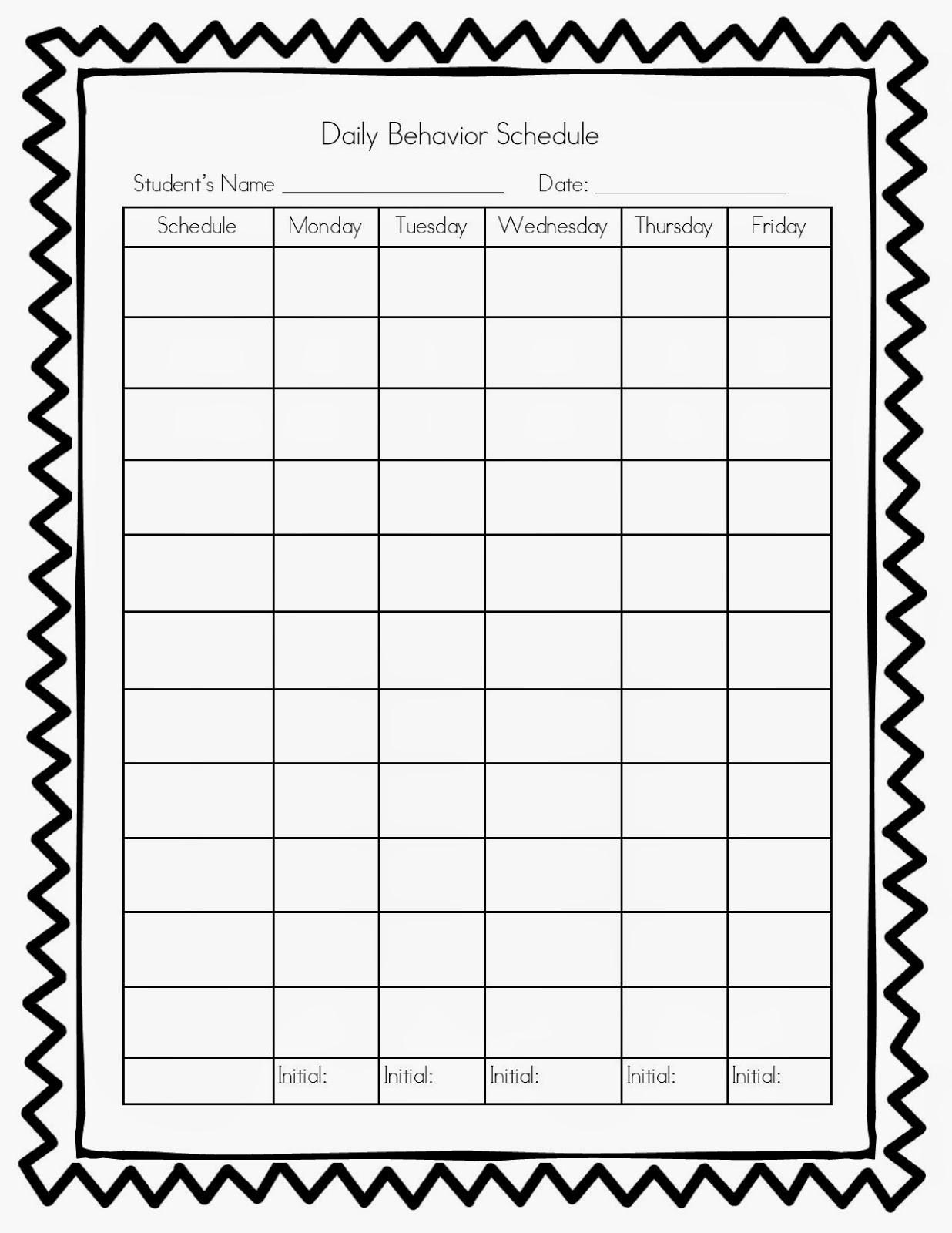 Printable Behavior Calendar Inspirational Pretty Monthly