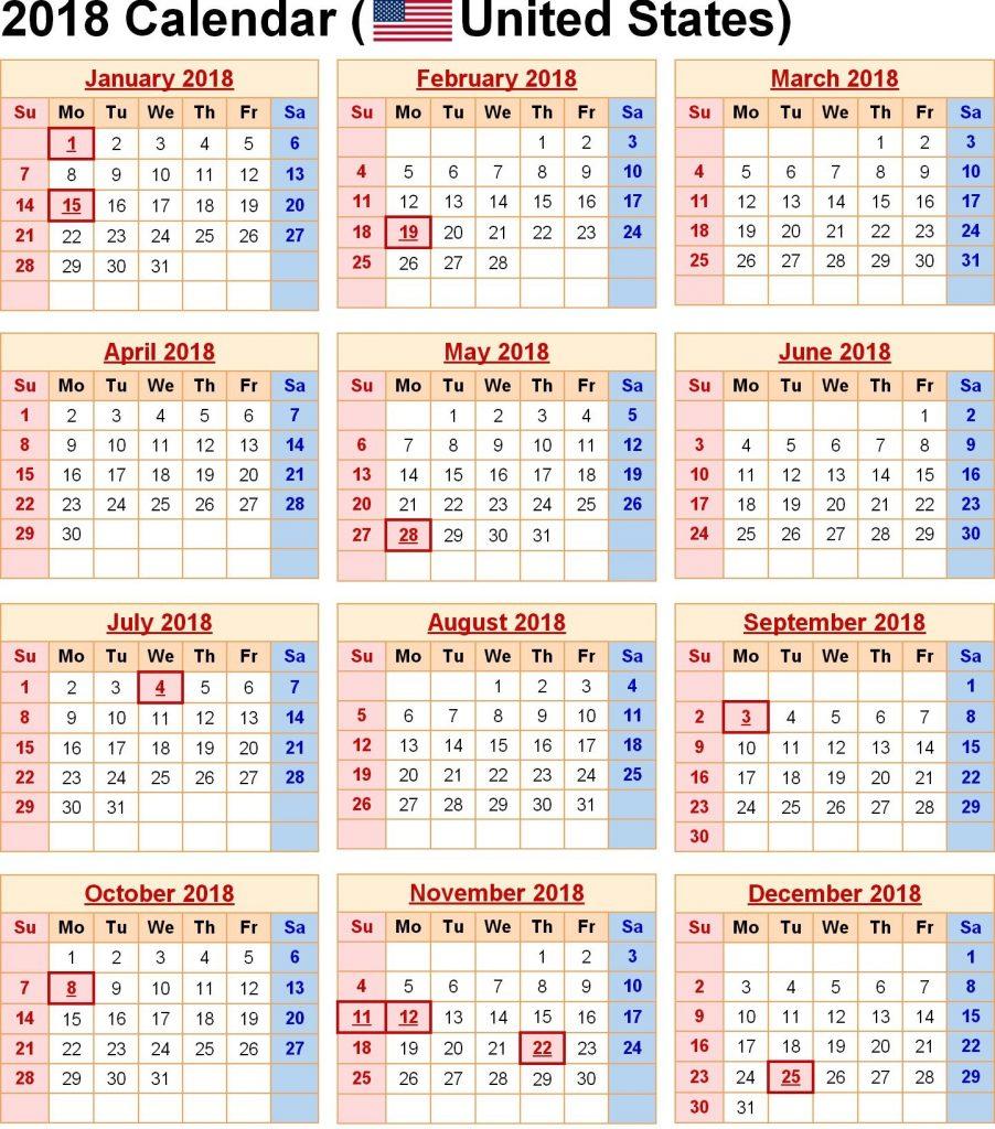 Printable Blank Calendar 2019 Usa - Free August 2019
