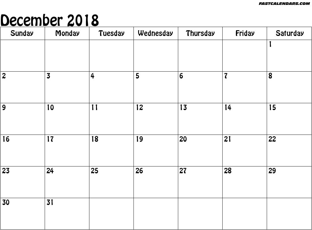 Printable Calendar 2018 November Legal Size | Calendar