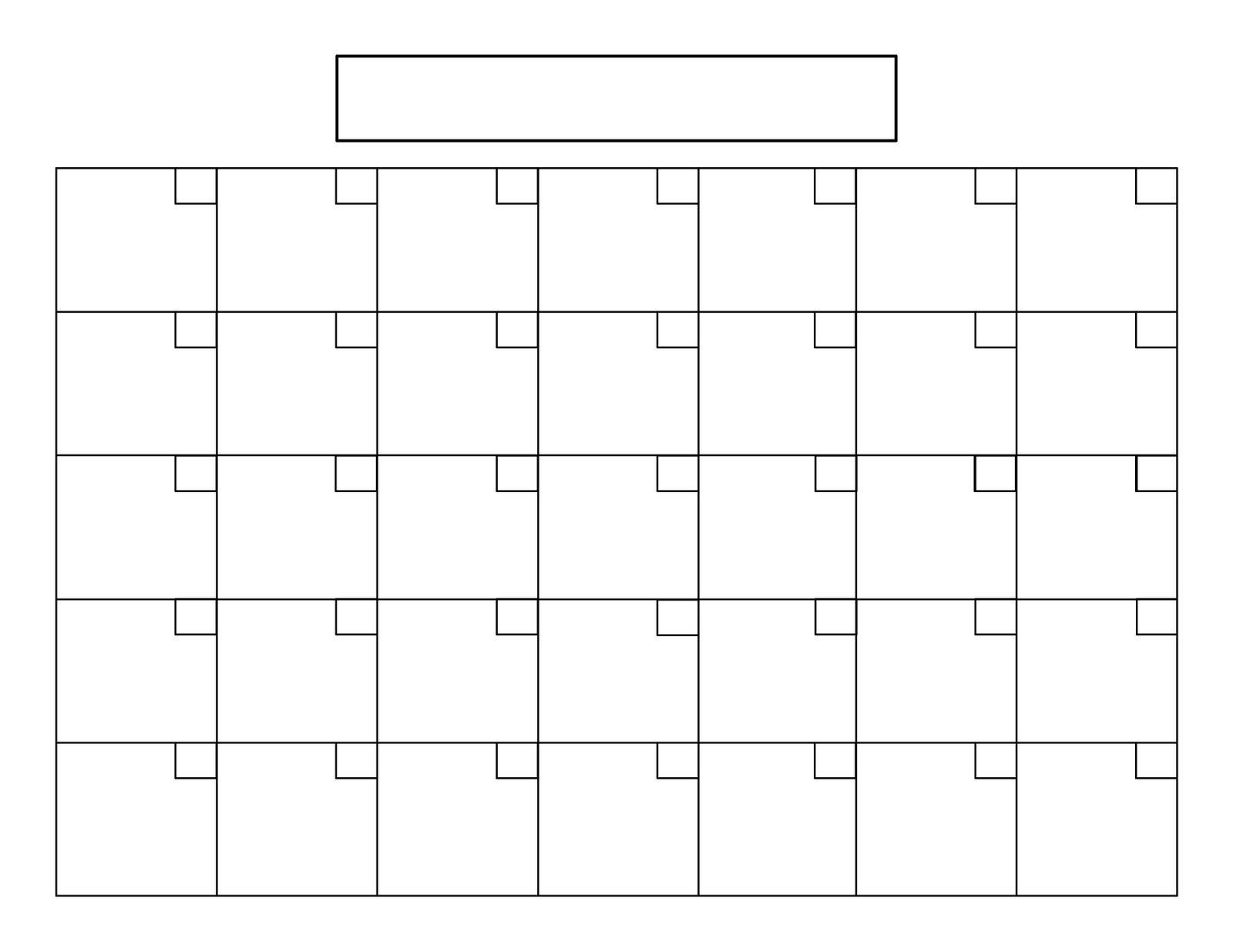 Printable Calendar 8 5 X 11 | Printable Calendar 2019