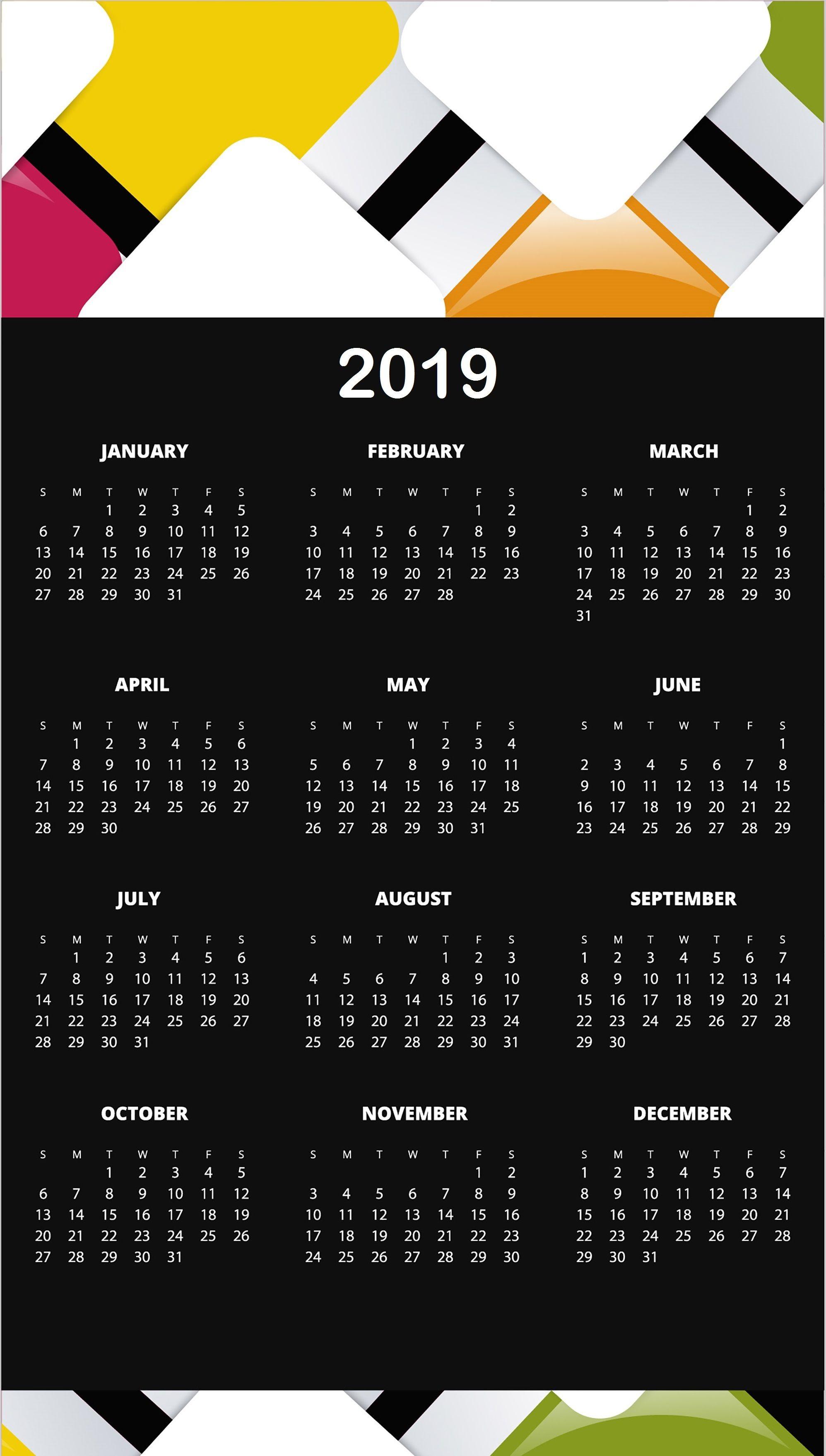 Printable Calendar April 2019 National Food Day | Calendar