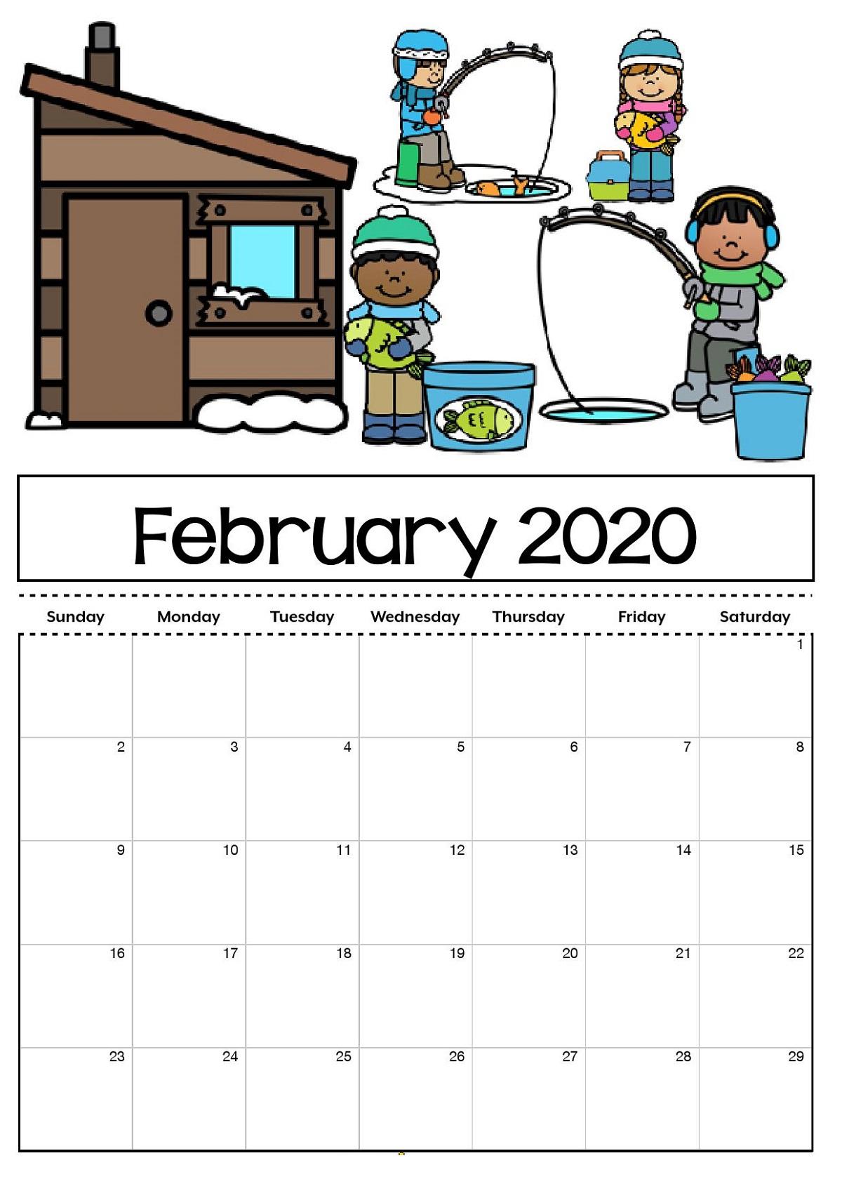 Printable Calendar For 2020 Blank Agenda   Calendar Shelter