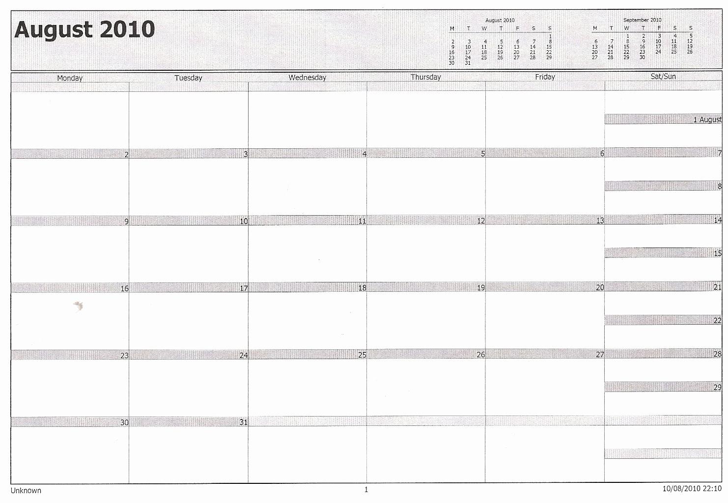 Printable Calendar In Outlook | Printable Calendar 2019