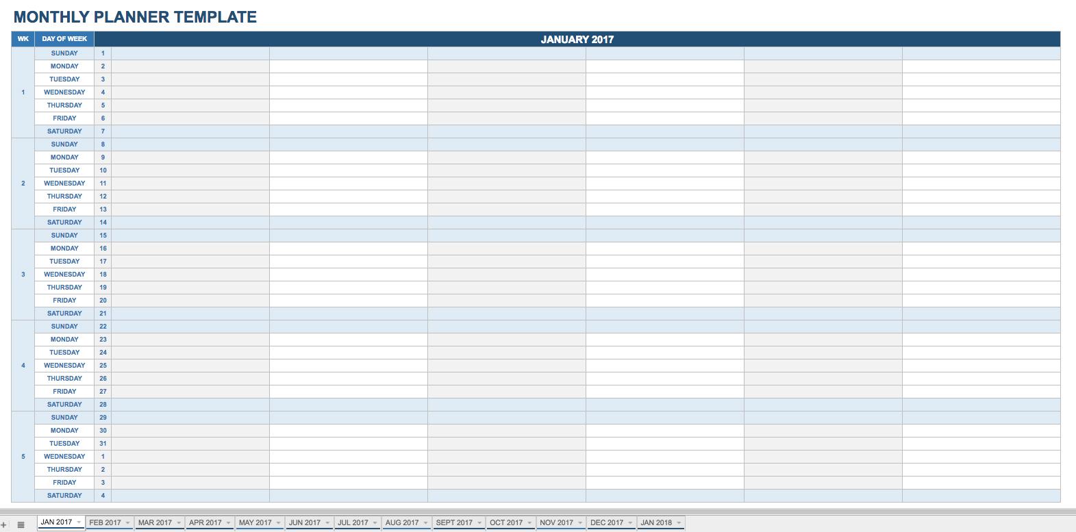Printable Calendar Individual Months | Printable Calendar 2019