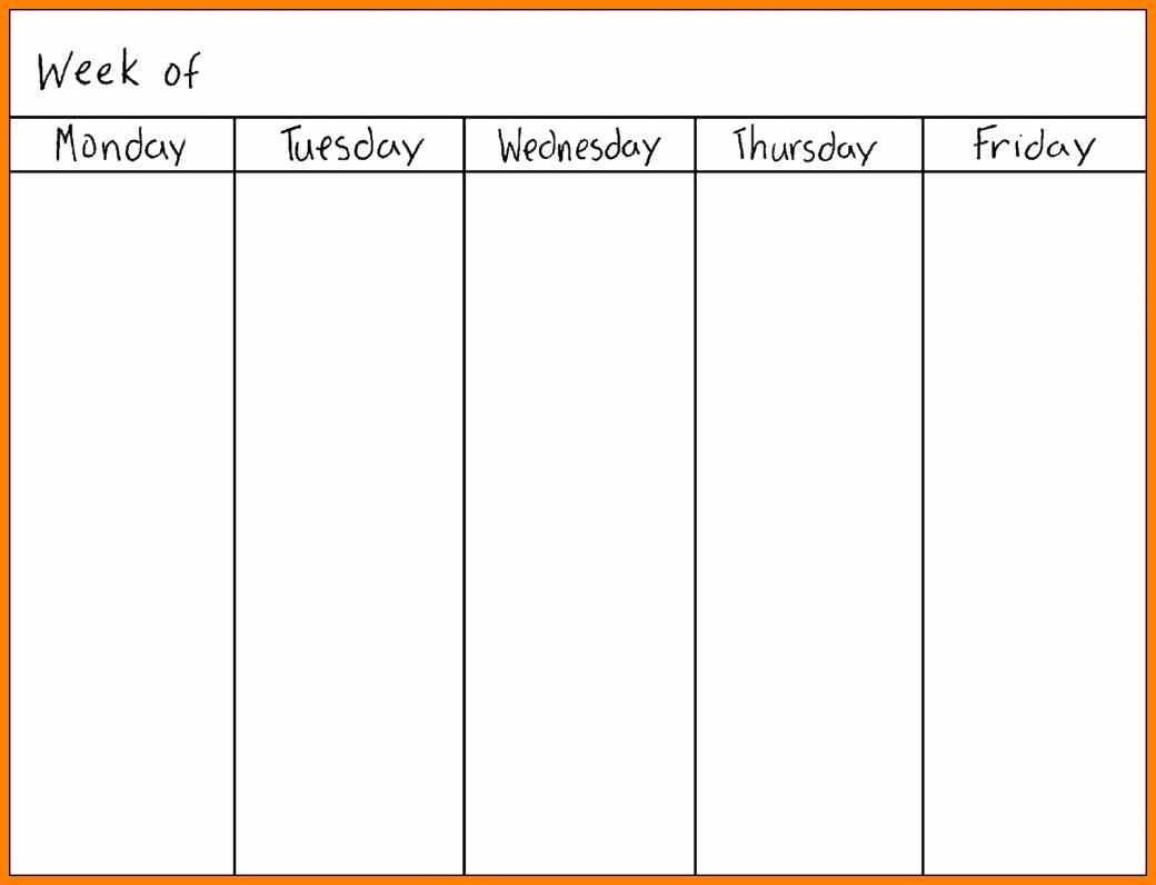 Printable Calendar Monday Through Sunday   Printable