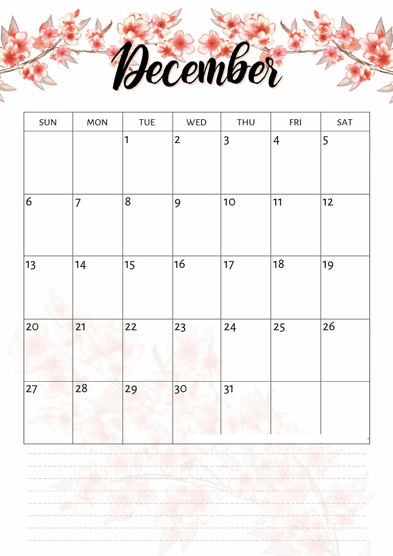 Printable Calendar Pages 2020 For All Ages   Calendar Shelter