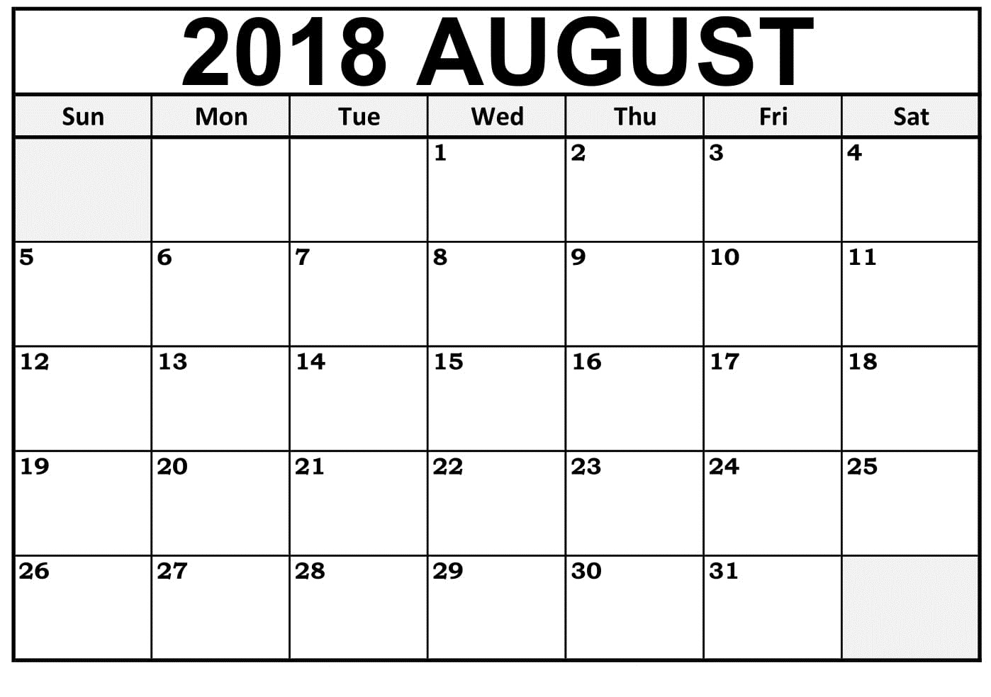 Printable Calendarlabs 2018 | Printable Calendar 2019