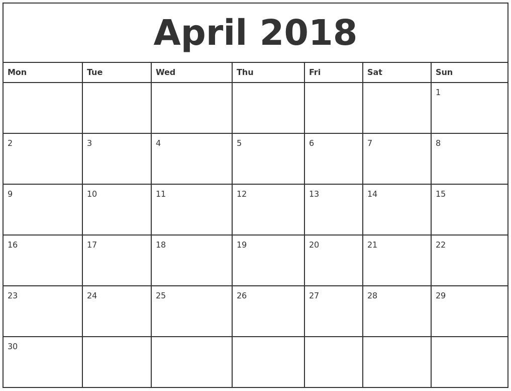 Printable Monthly Calendar Templates | Hauck Mansion