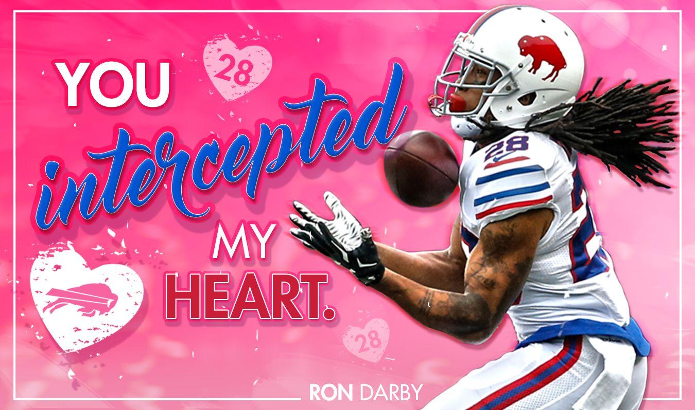 Printable Valentine's Day Cards | Buffalo Bills | Bills