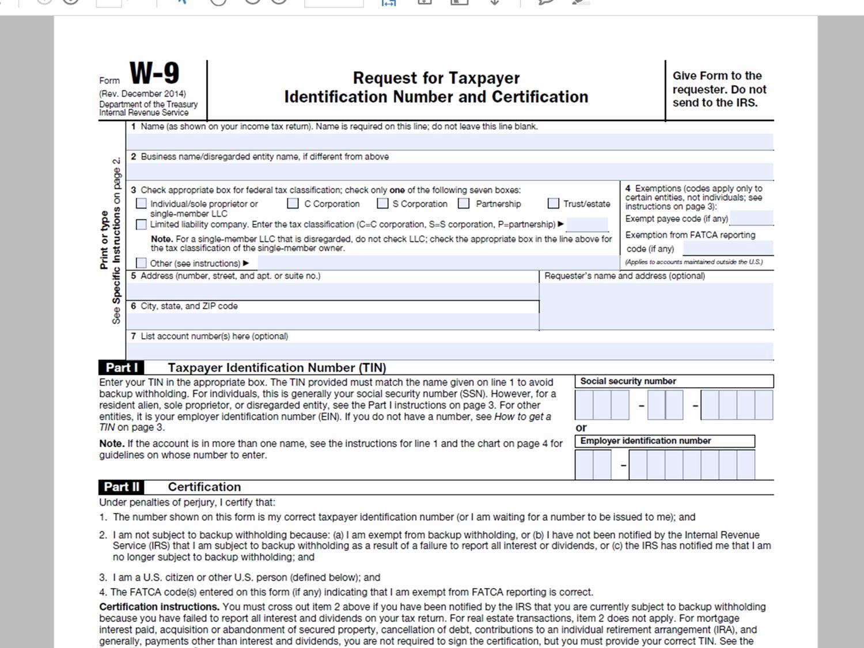 Blank W 9 2020 Form Printable | Example Calendar Printable