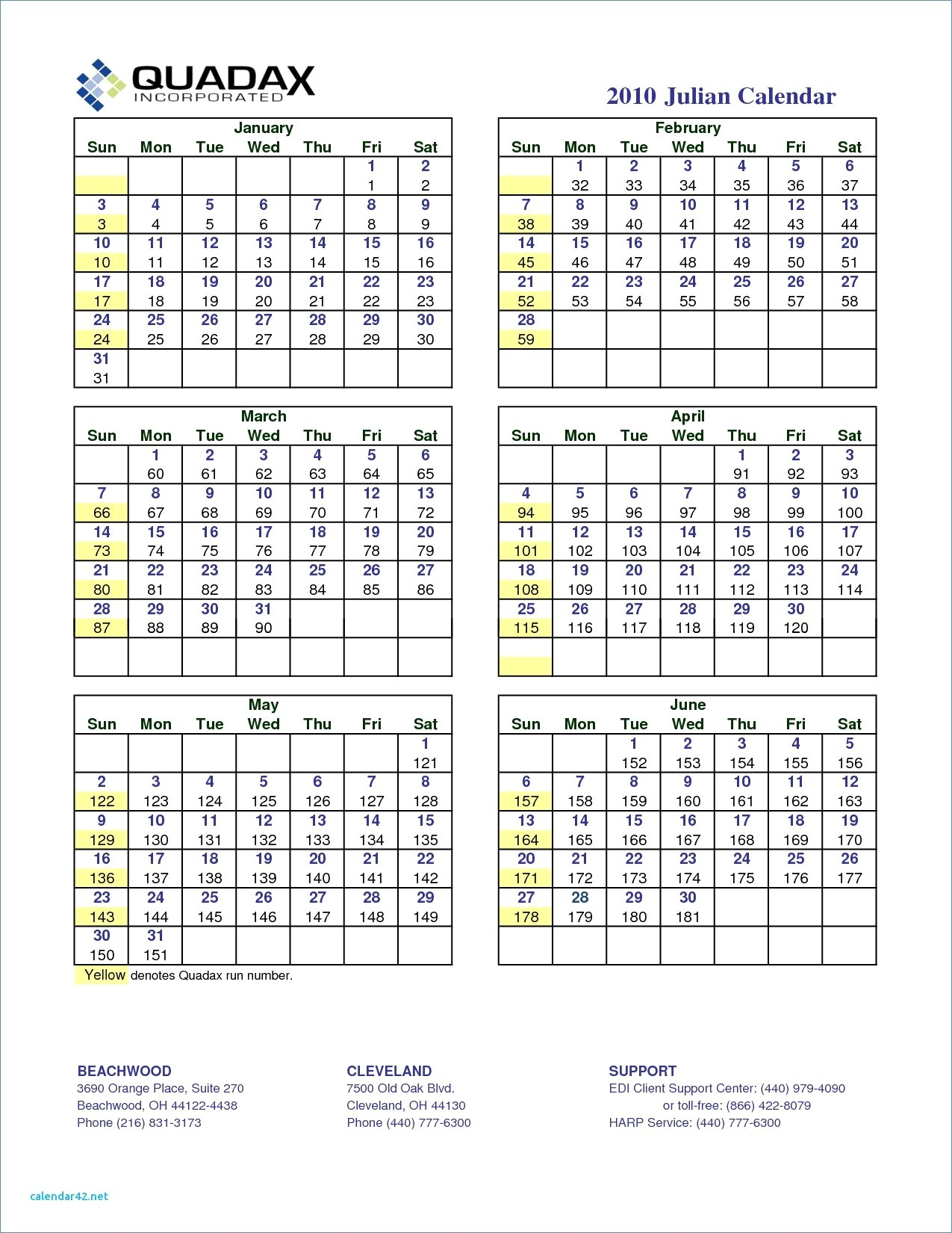 Quadax Julian Calendar | Jcreview