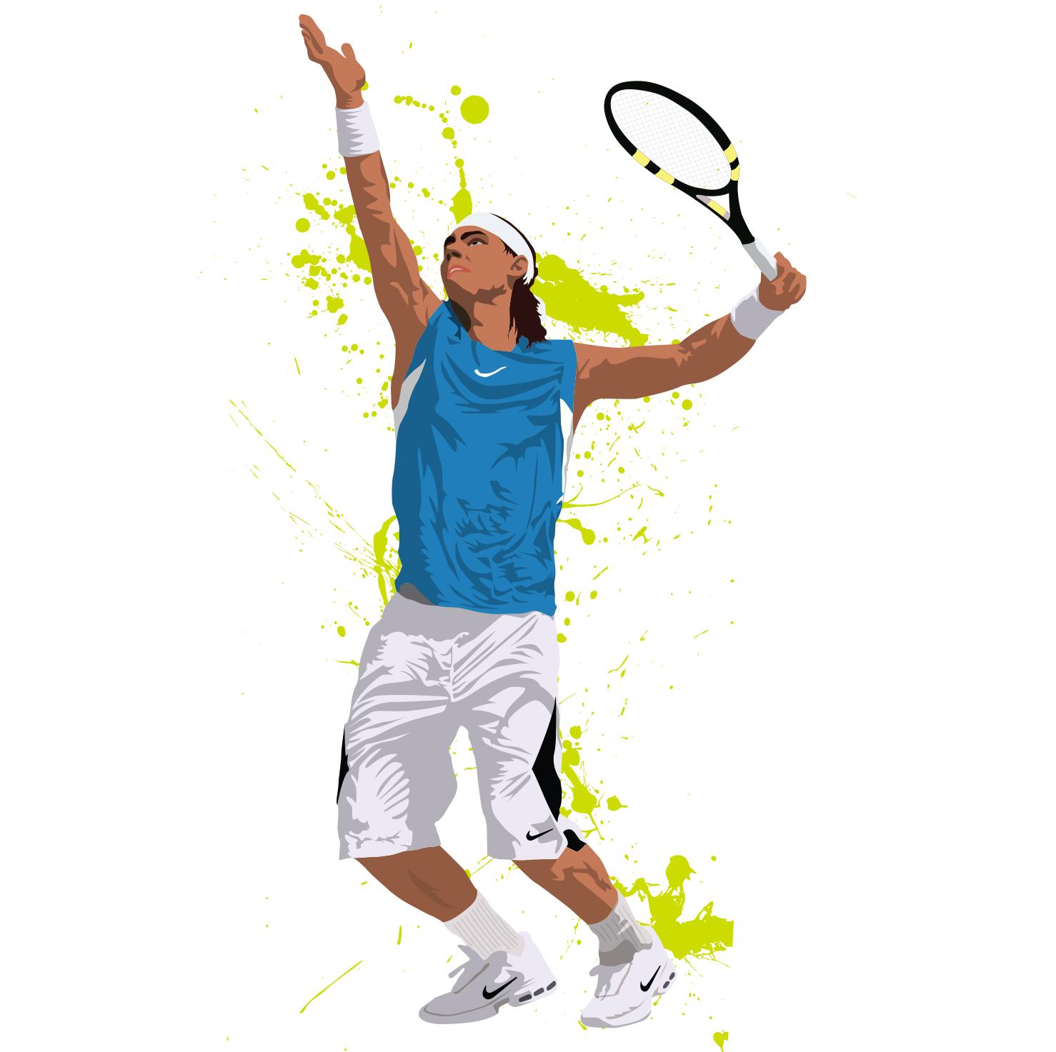 Rafael Nadal | Tenis | Tennis, Tennis Wallpaper, Sports Painting