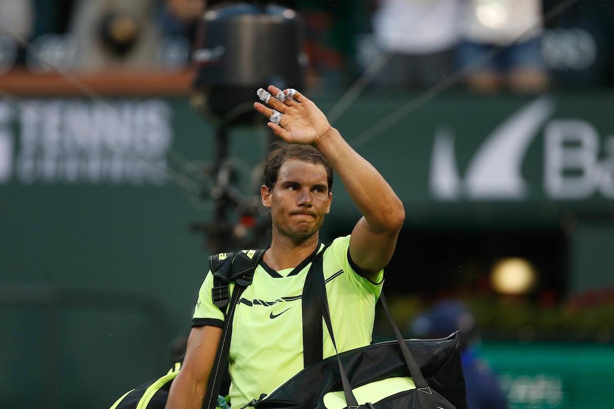 Rafael Nadal Withdraws From Bnp Paribas Open - Bnp Paribas Open