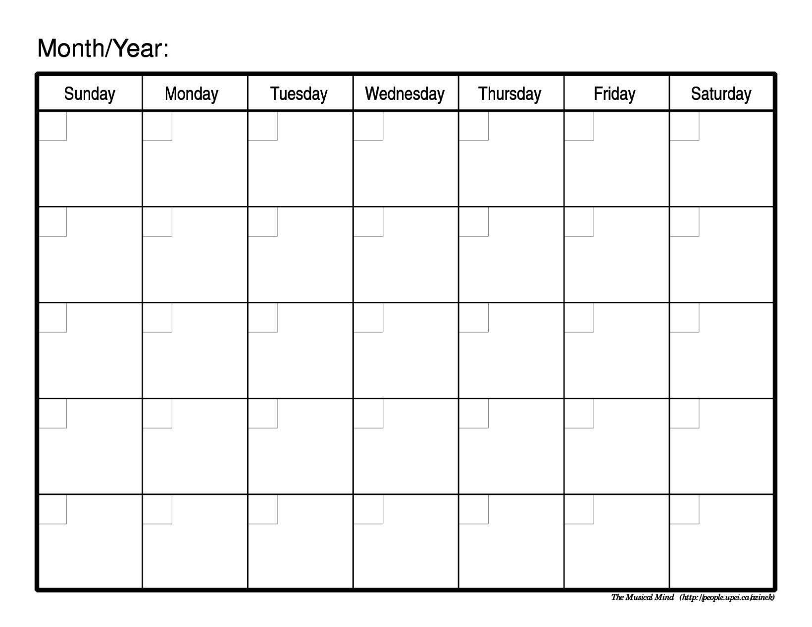 Schedule Template Free Blank Printable R Aaron The Artist