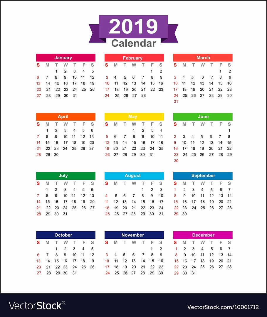 Shift Calendar 2019 2020 Calendar 2019 Only Printable Yearly