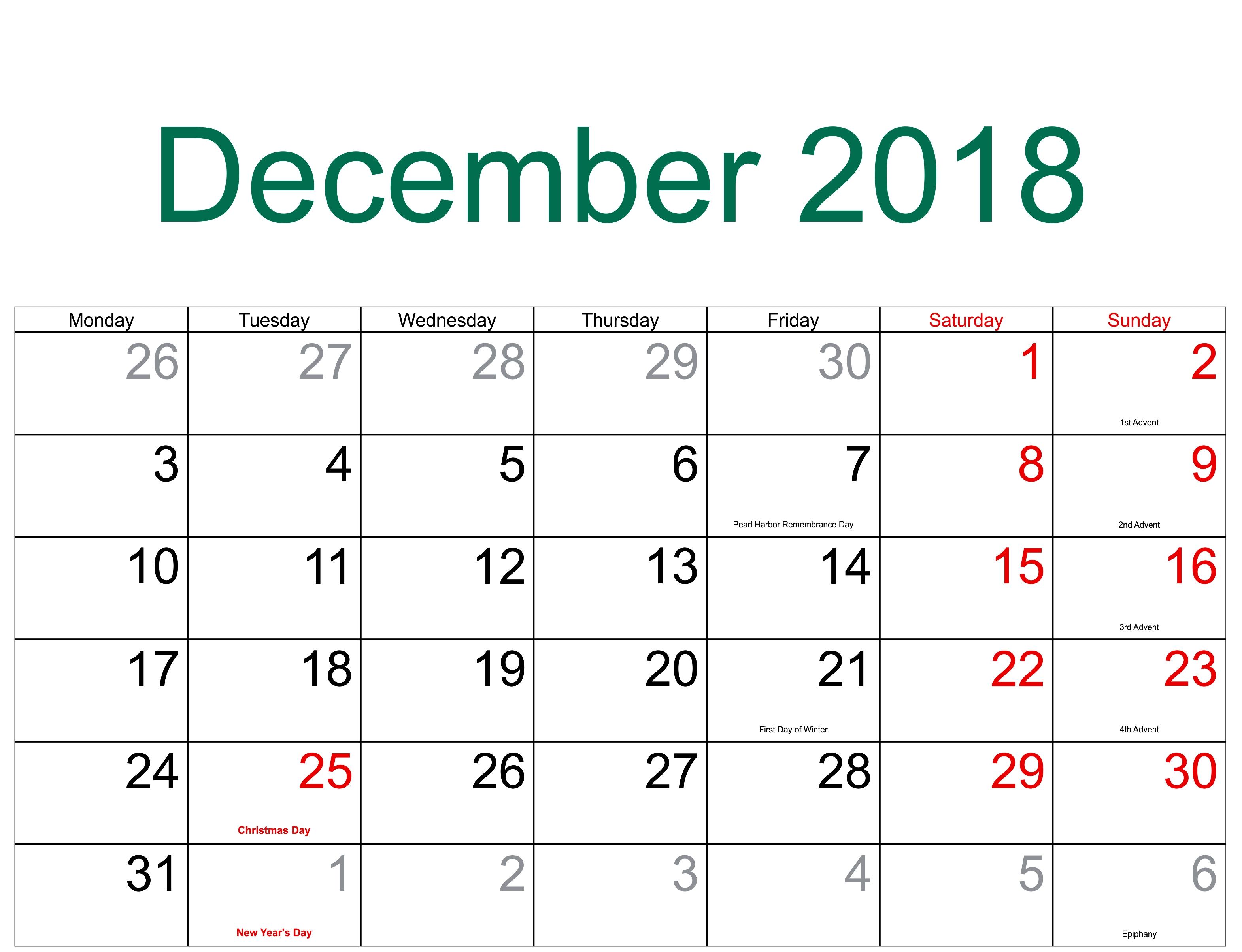 Take Daily Catholic Calendar December 2019 ⋆ The Best