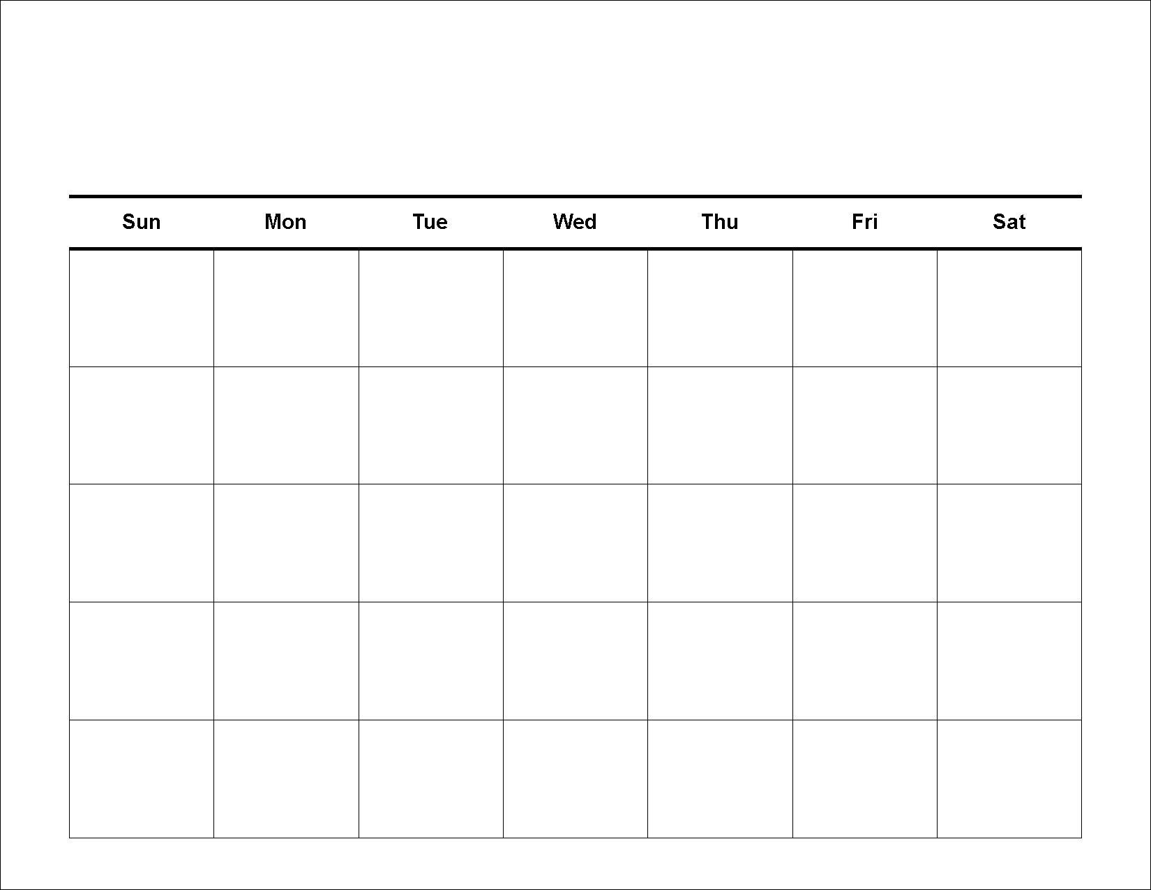 Take Fill In Blank Weekly Calendar Templates ⋆ The Best