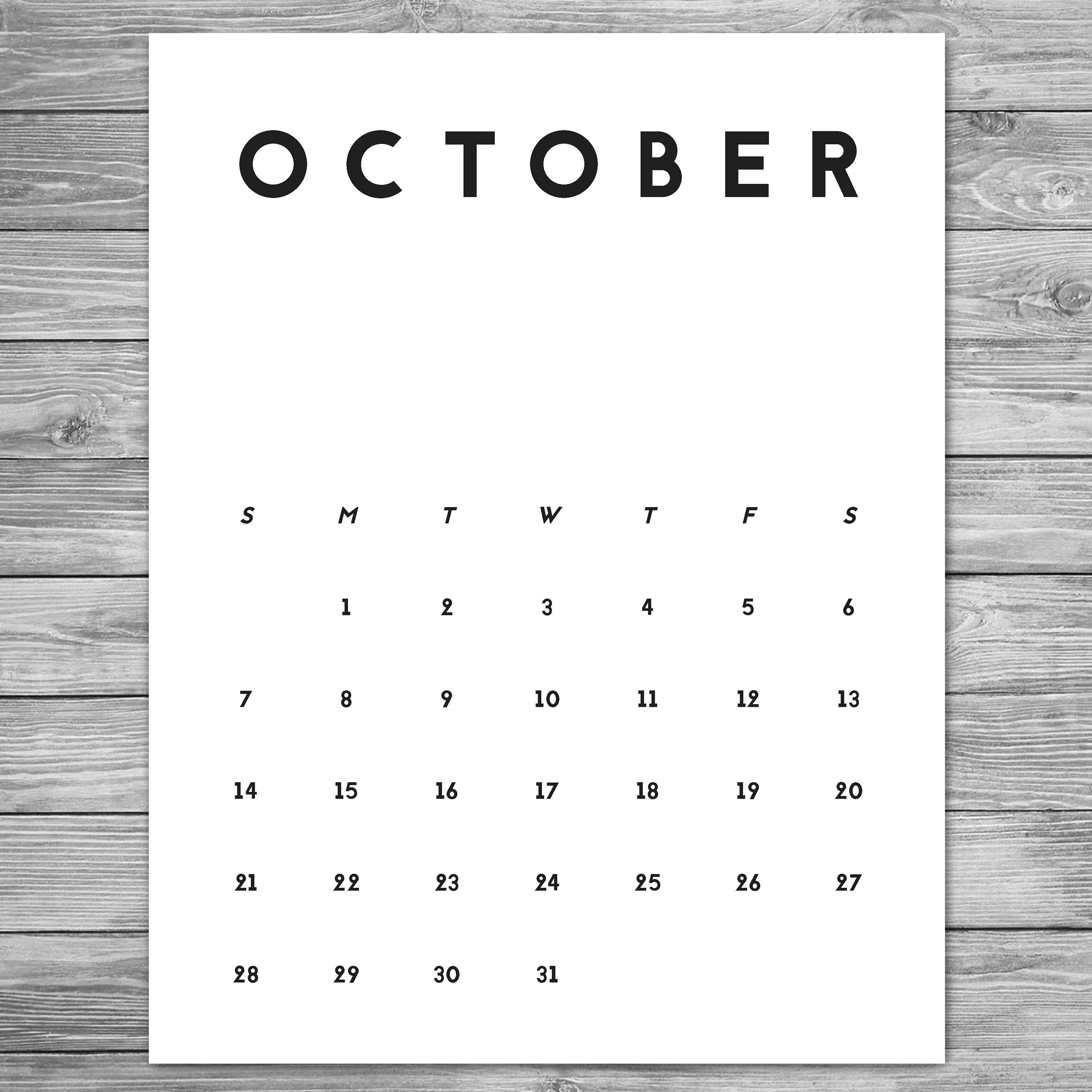 The Calendar Design , For 3 Years , Modular , Typography