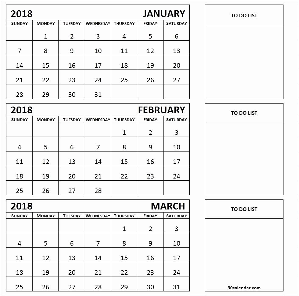 Three Month Calendar Printable 2019 3 Month Summer Calendar