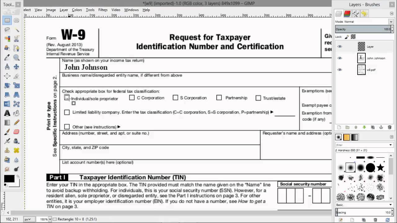 W 8 Tax Form Purpose 7 Instructions 4 Pdf In Spanish 2G 10