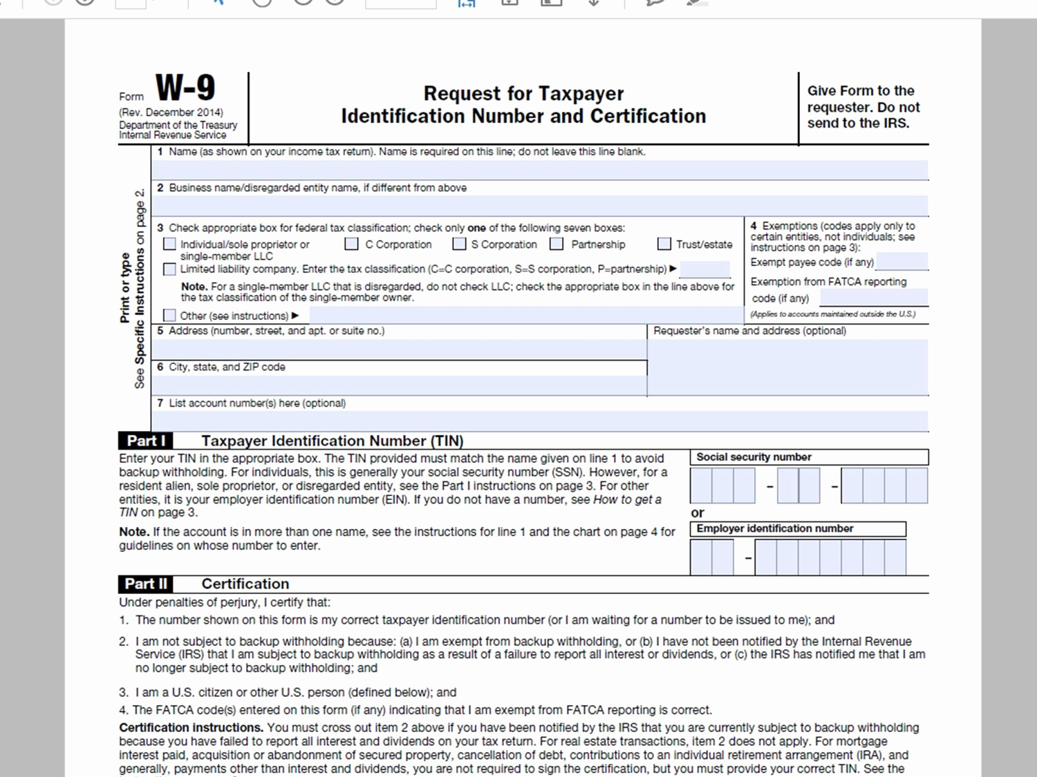 w9-forms-printable-2019-calendar-template-printable-22  Misc Form Example on for tax year, recipient instructions,