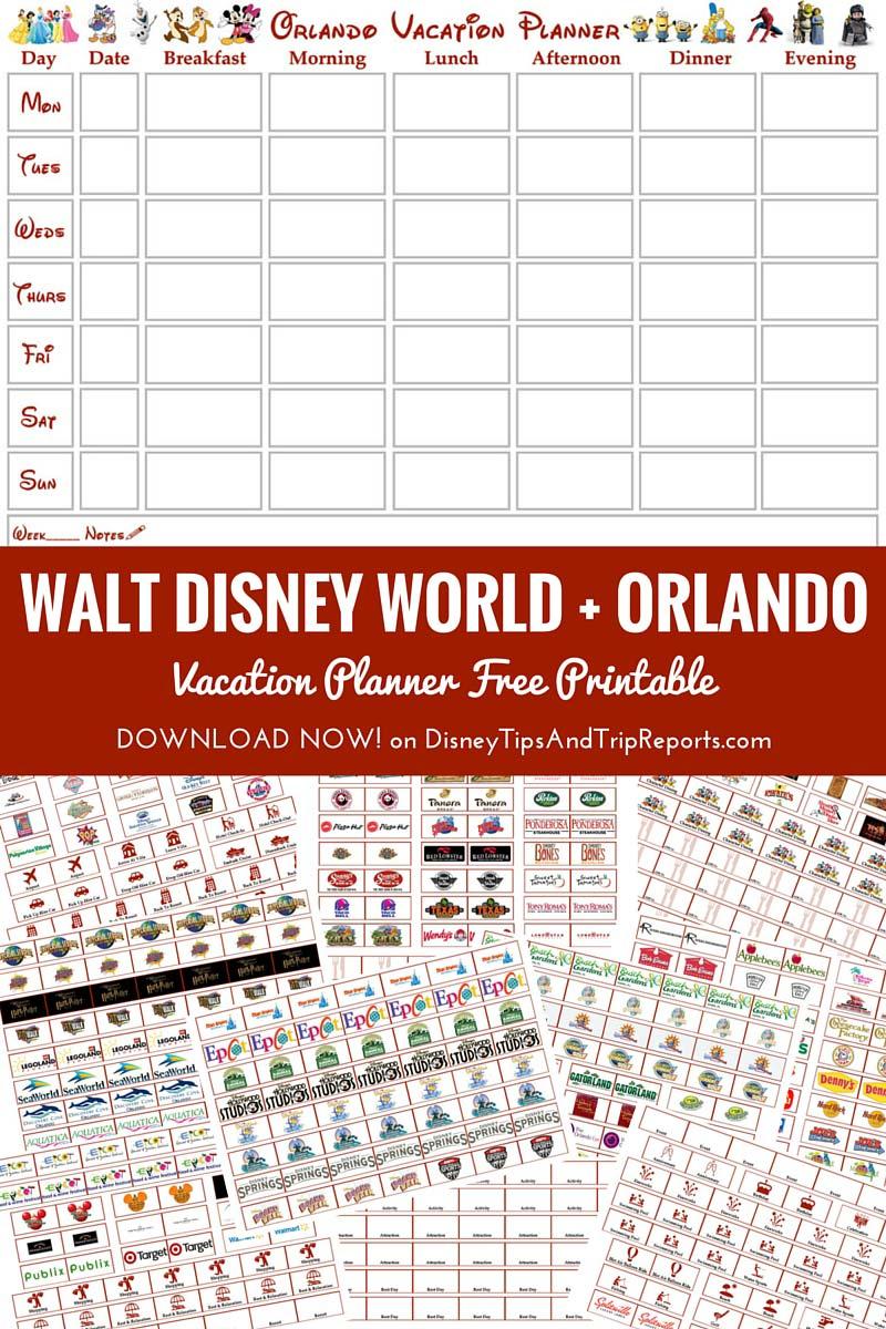 Walt Disney World + Orlando Vacation Planner   Free