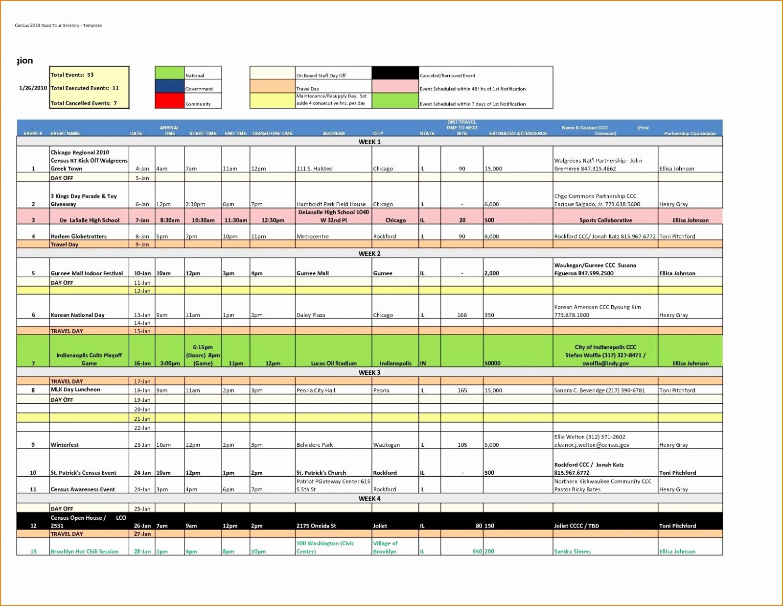 Walt Disney World Planning Spreadsheet For Spreadsheet